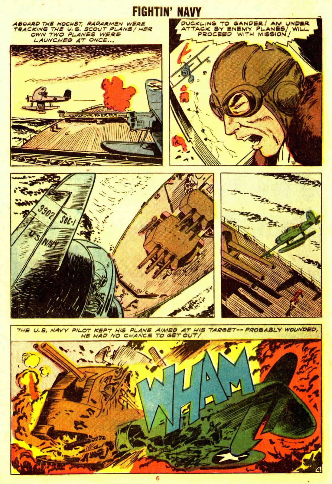 Read online Fightin' Navy comic -  Issue #83 - 6