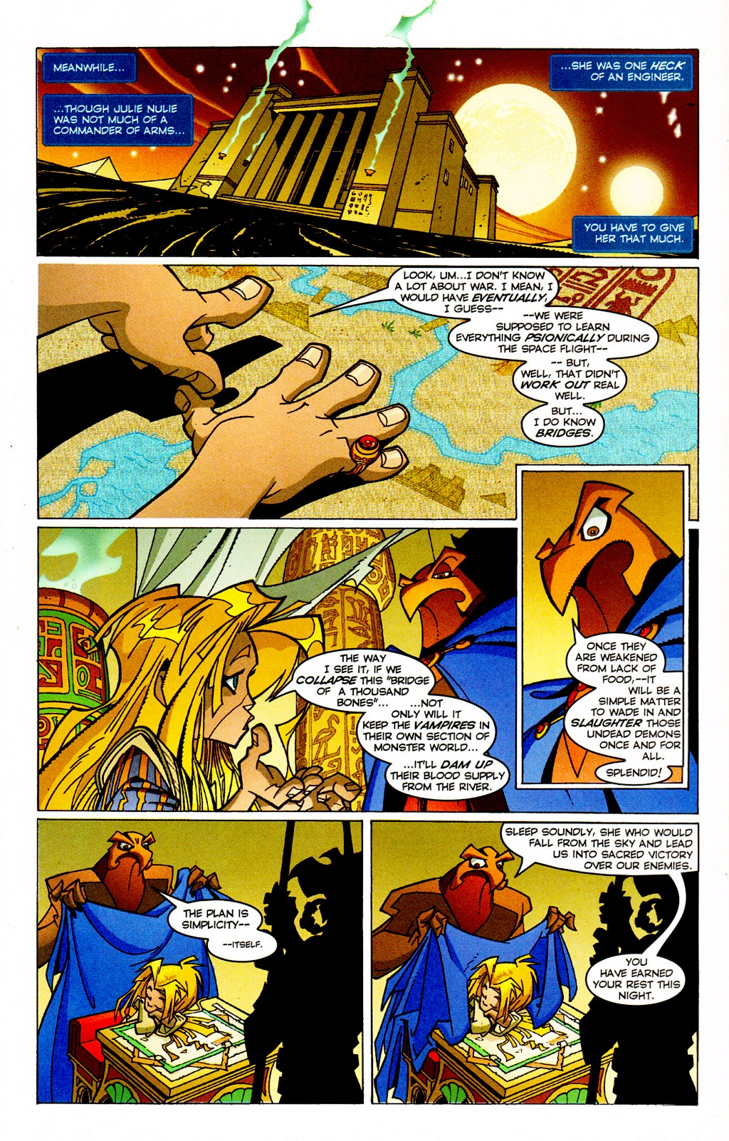 Read online Monster World (Existed) comic -  Issue #3 - 16