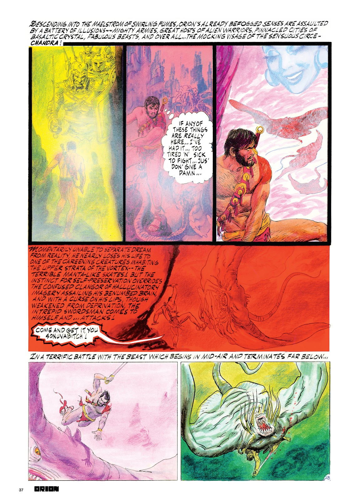 Read online Orion and Edge of Chaos comic -  Issue # TPB - 38