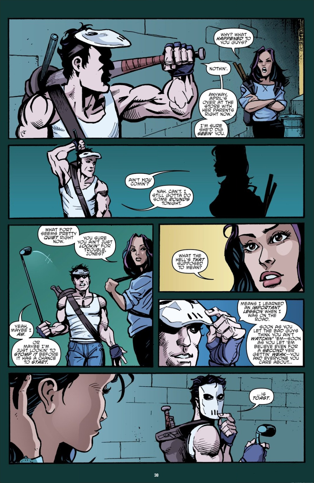 Read online Teenage Mutant Ninja Turtles: The IDW Collection comic -  Issue # TPB 7 (Part 1) - 38