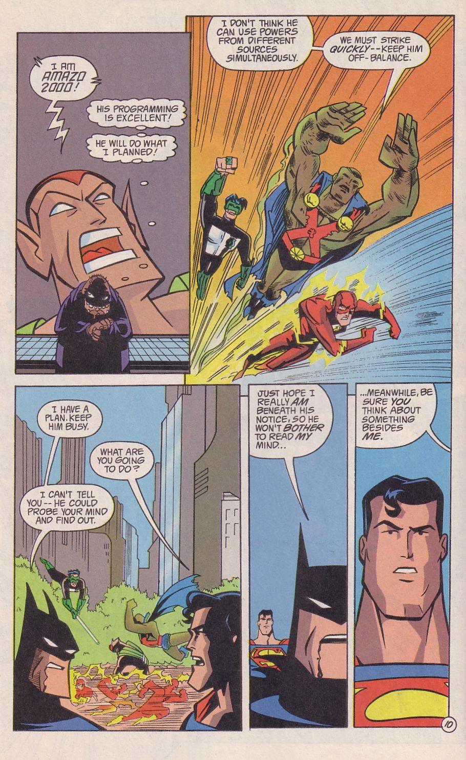Read online Adventures in the DC Universe comic -  Issue #18 - 11