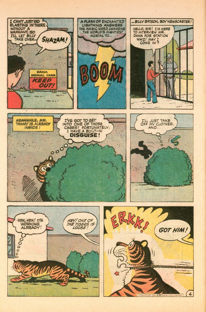 Read online Shazam! (1973) comic -  Issue #7 - 5