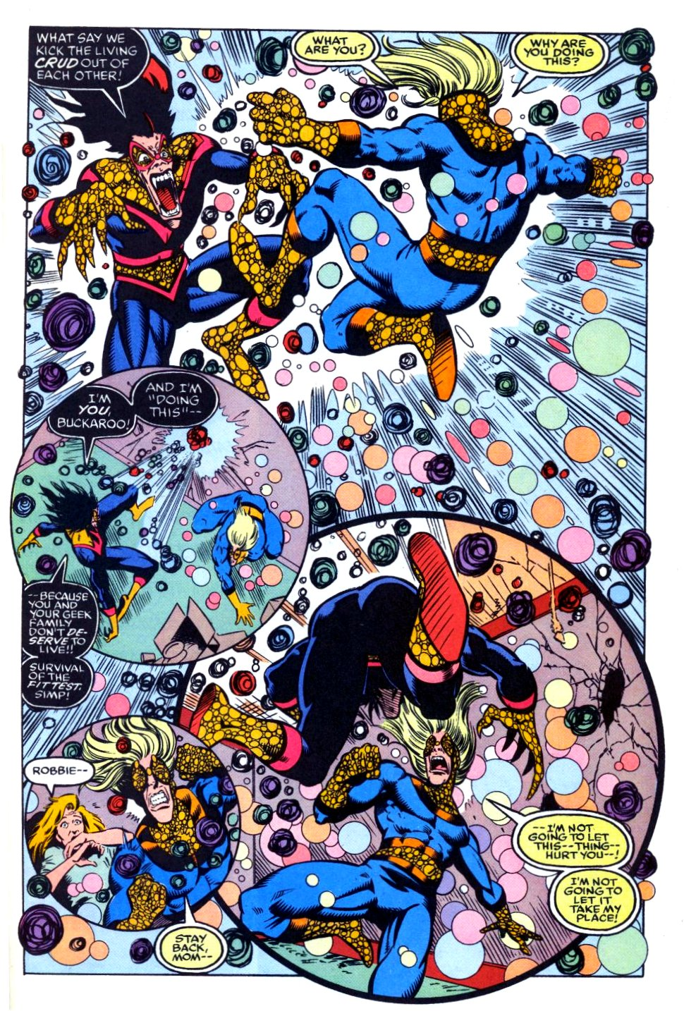 The New Warriors Issue #27 #31 - English 19