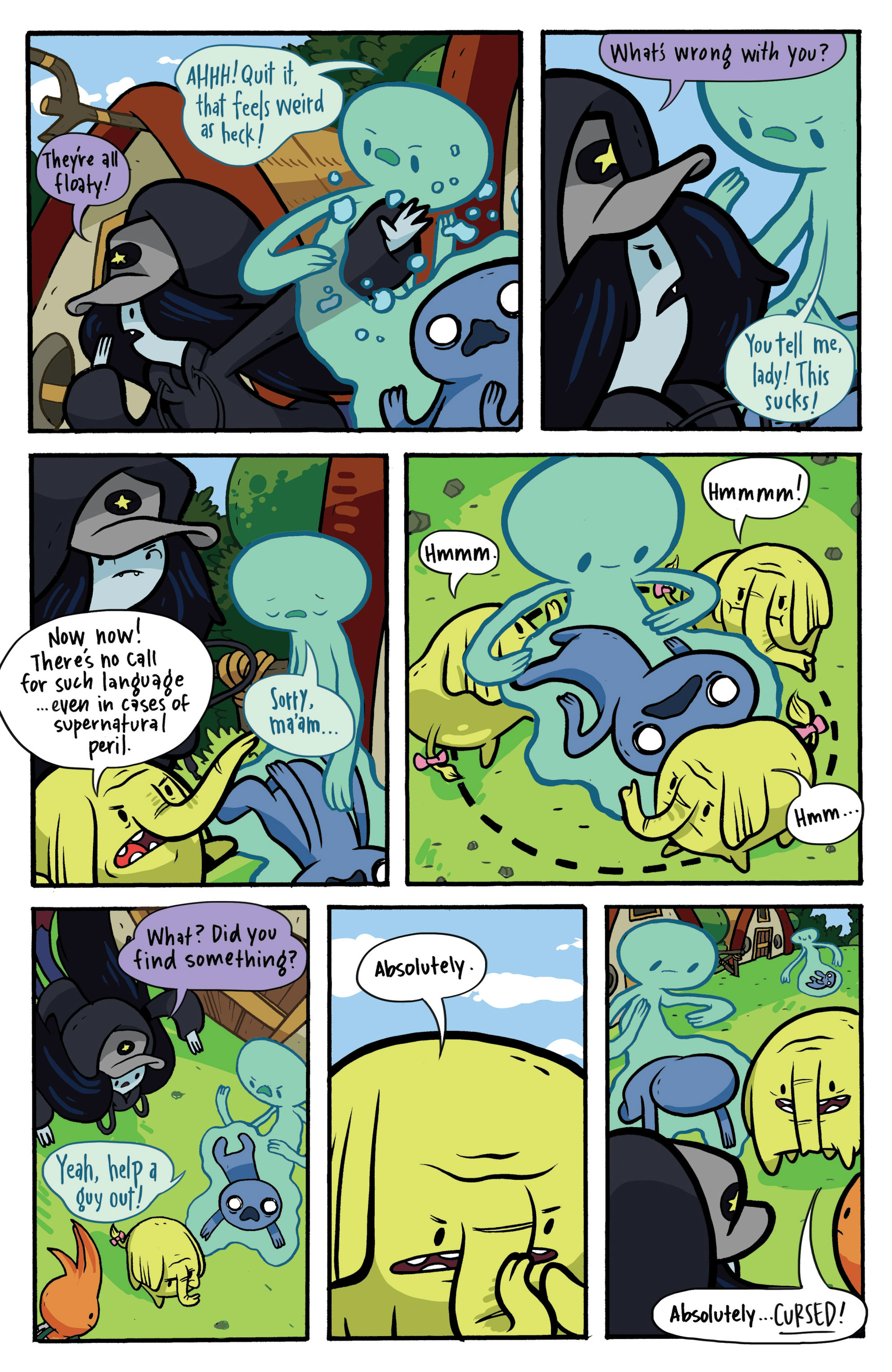 Read online Adventure Time: Candy Capers comic -  Issue #2 - 14