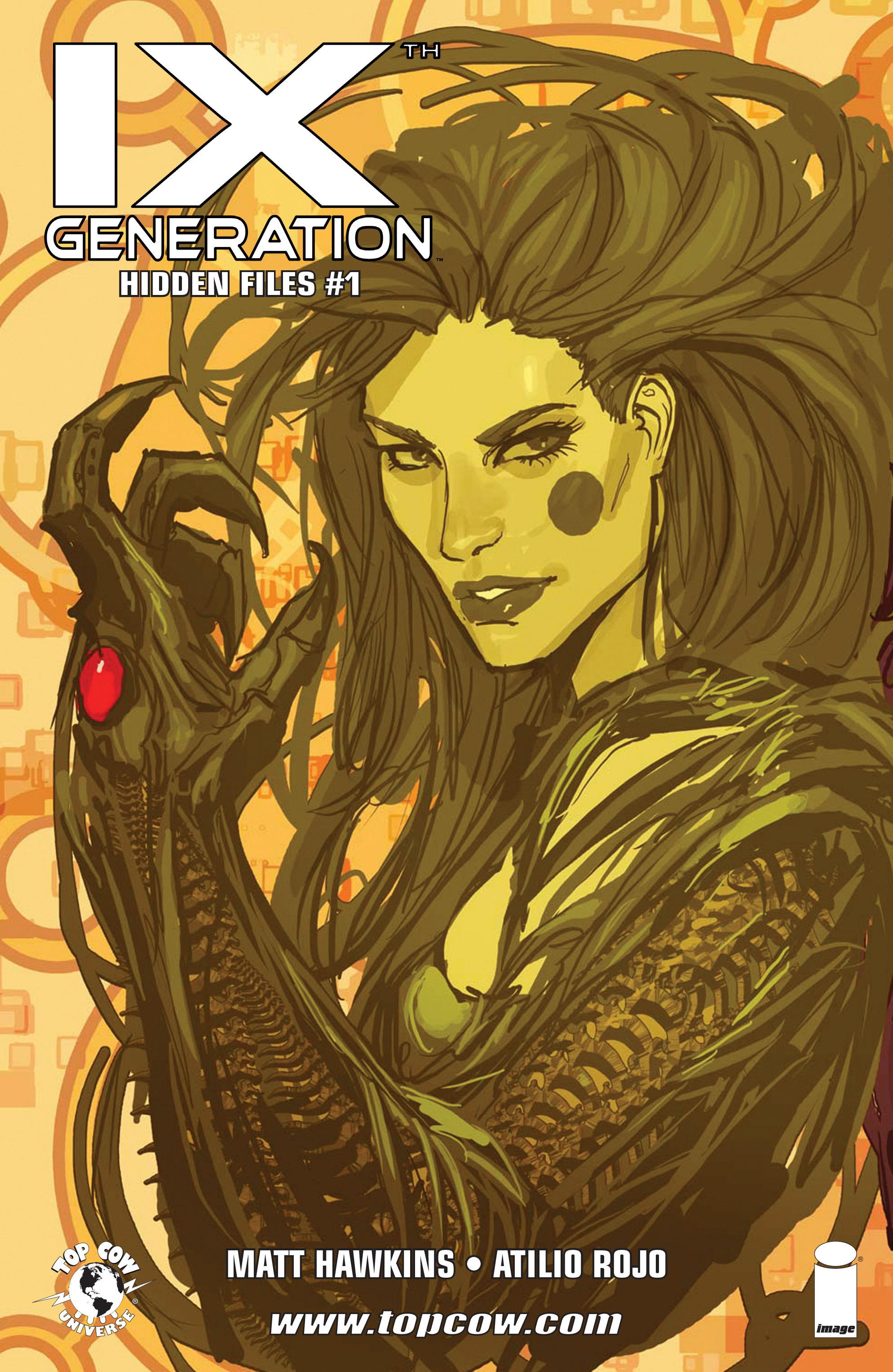 Read online IXth Generation Hidden Files comic -  Issue #1 - 1