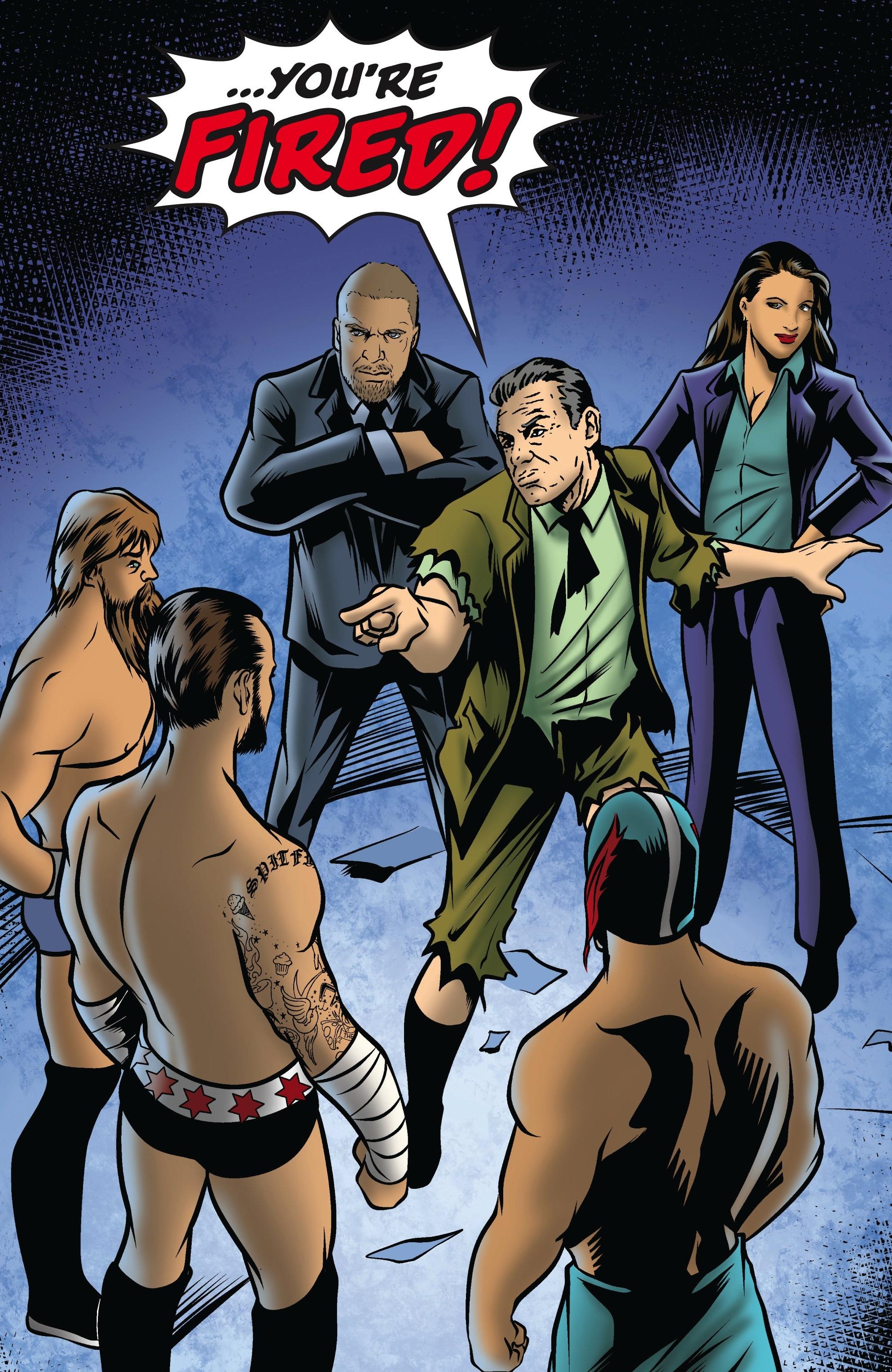 Read online WWE Superstars comic -  Issue #5 - 5