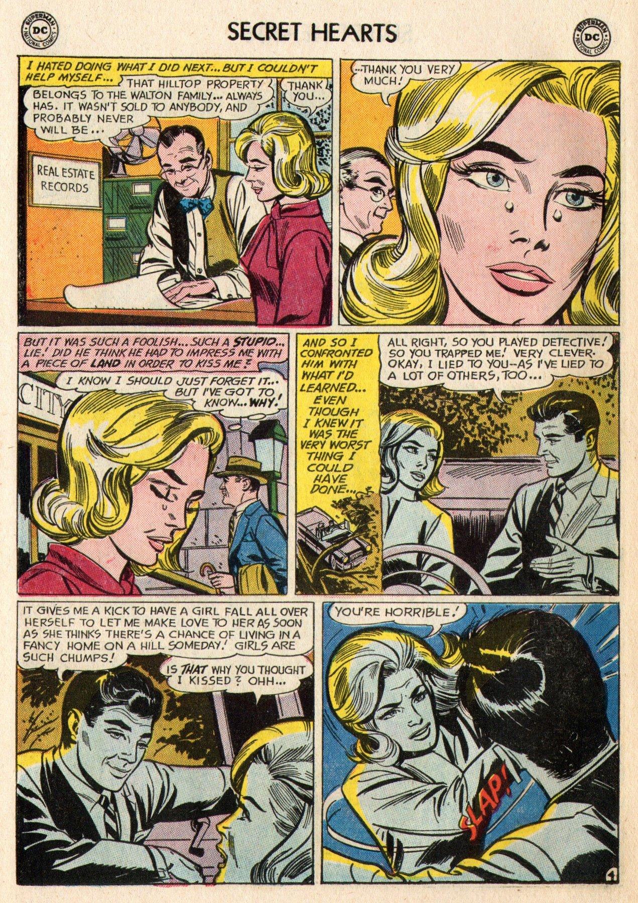 Read online Secret Hearts comic -  Issue #95 - 14