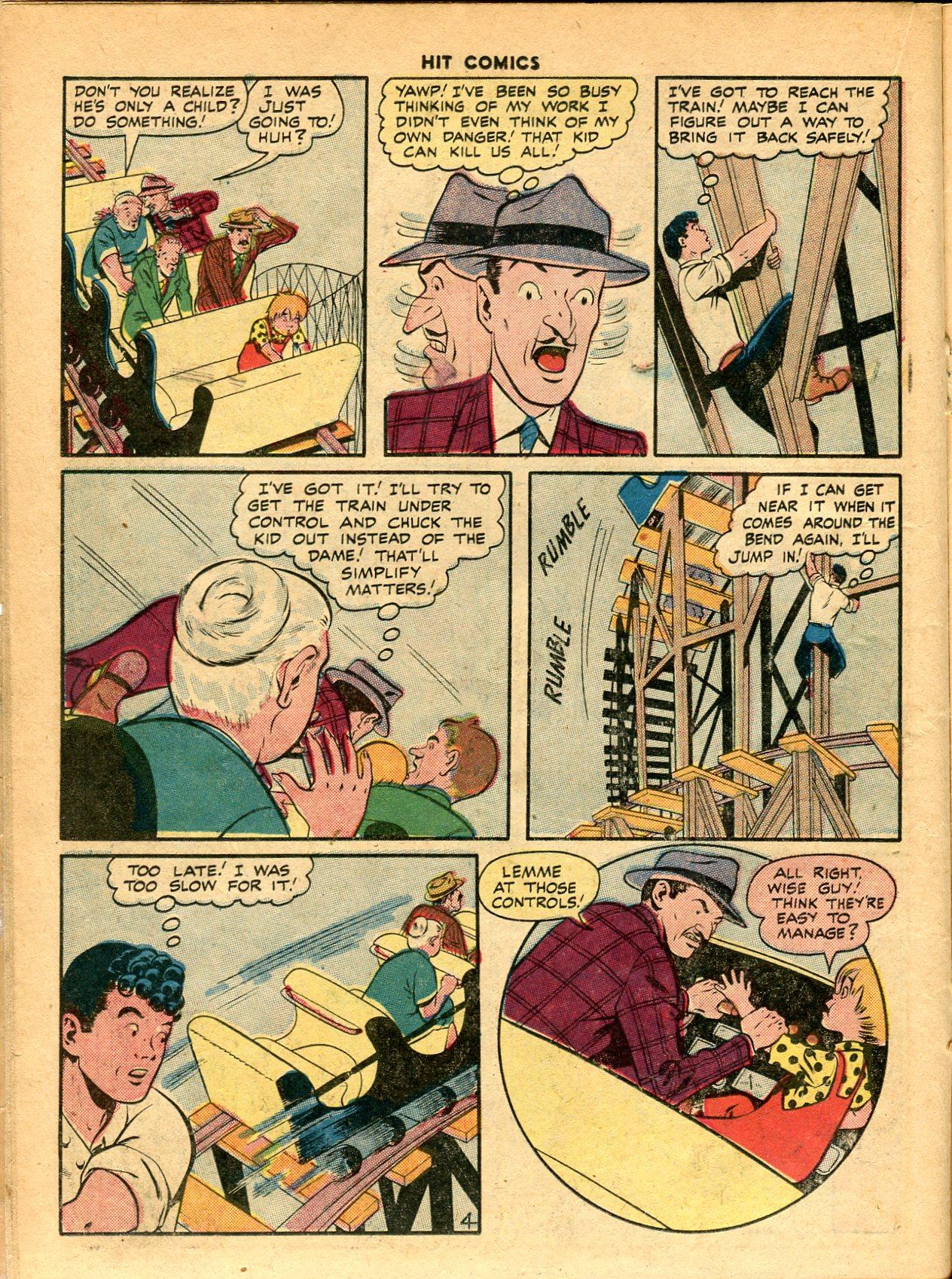 Read online Hit Comics comic -  Issue #49 - 24