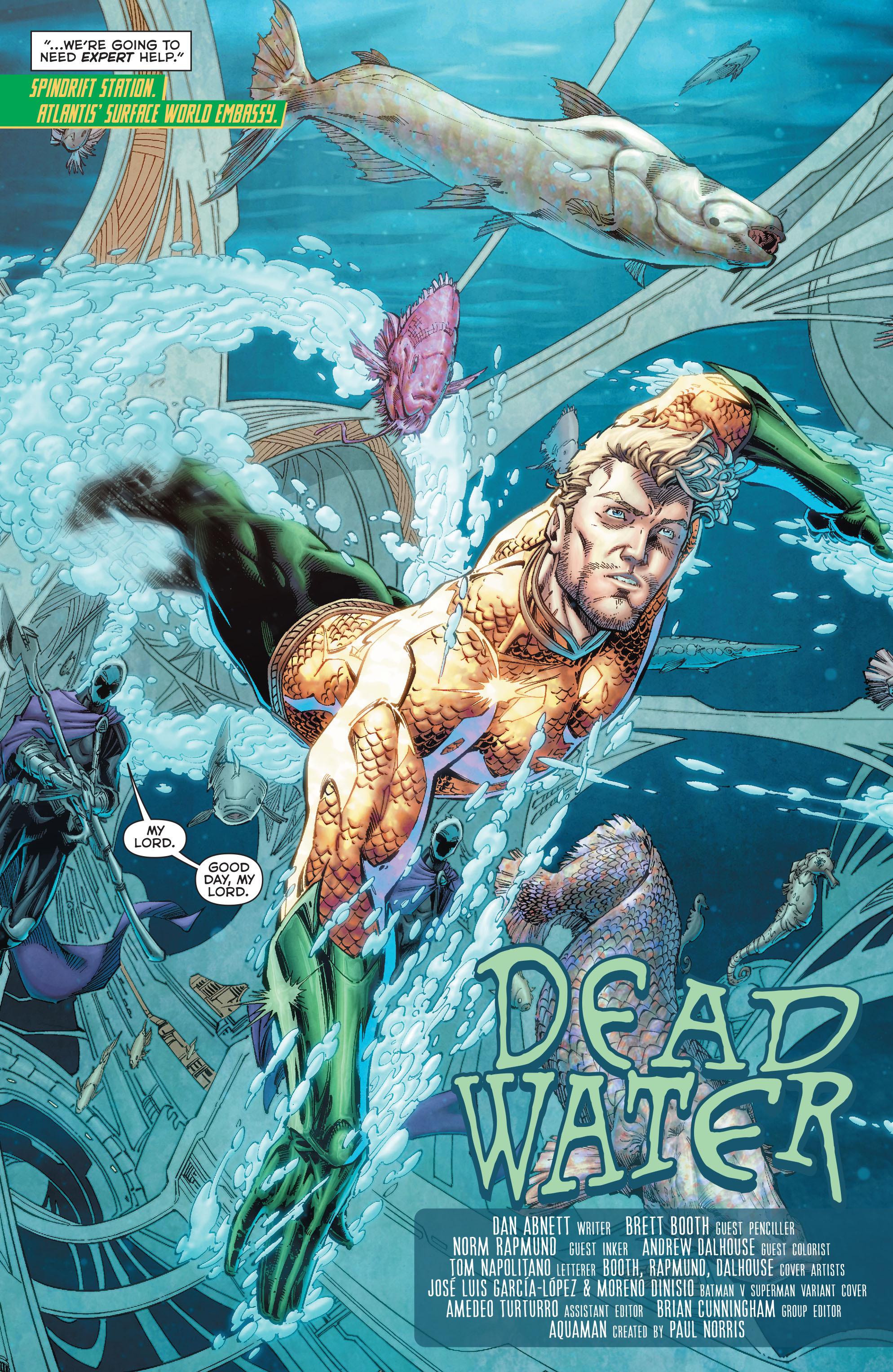 Read online Aquaman (2011) comic -  Issue #50 - 7