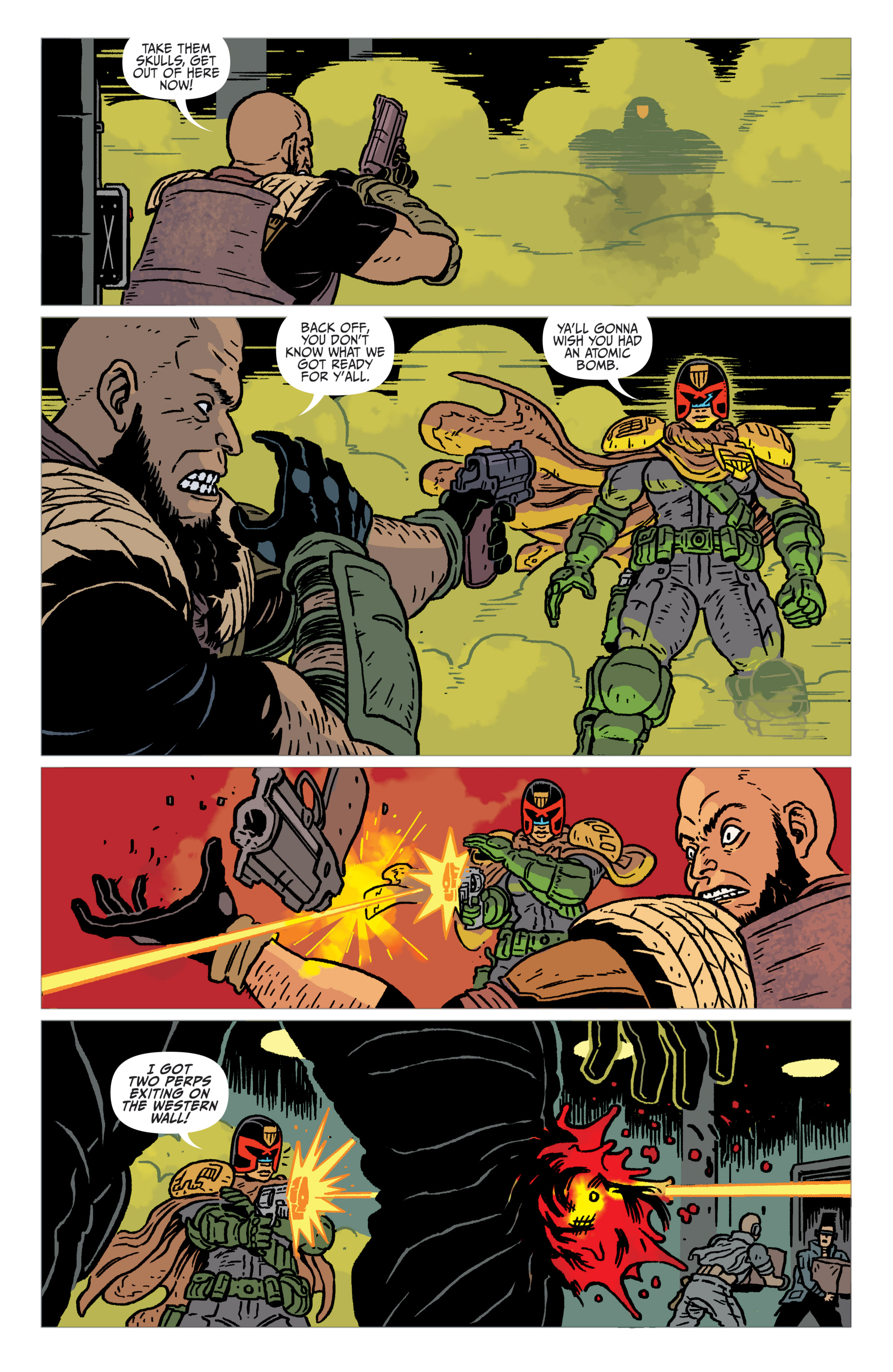Read online Judge Dredd: The Blessed Earth comic -  Issue #2 - 13