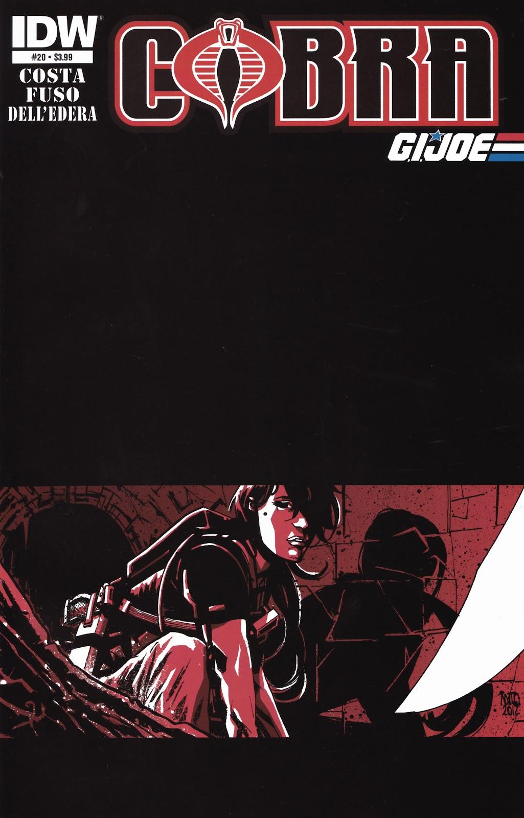 G.I. Joe Cobra (2011) Issue #20 #20 - English 1
