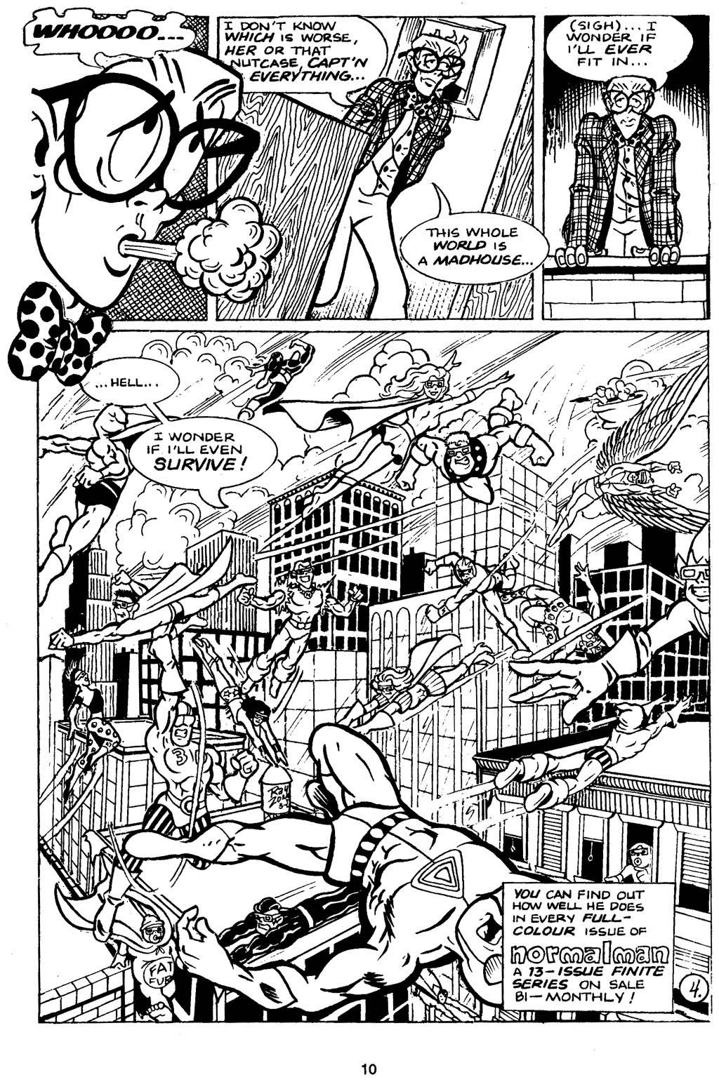 Read online Normalman - The Novel comic -  Issue # TPB (Part 1) - 15