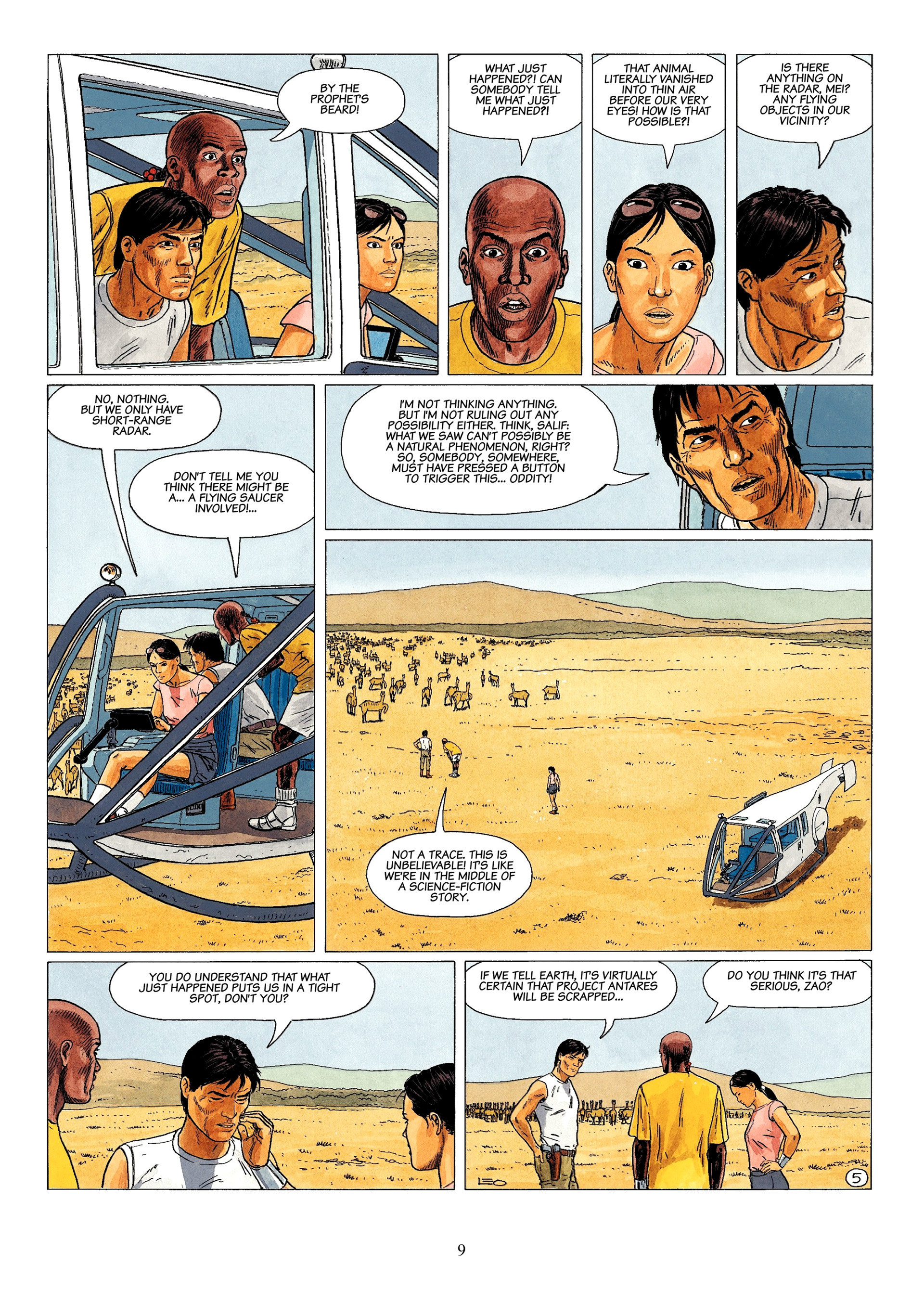 Read online Antares comic -  Issue #1 - 7