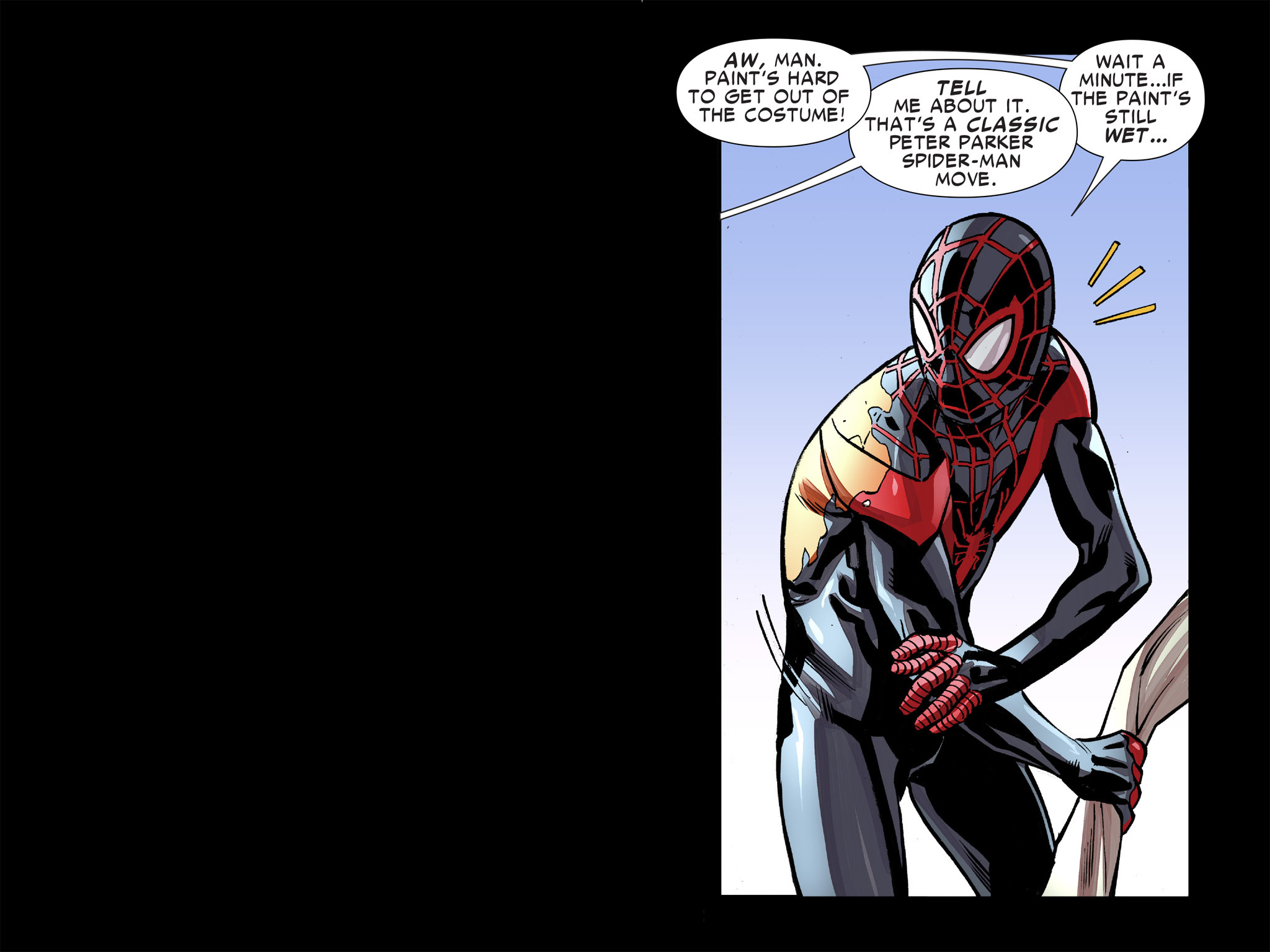 Read online Ultimate Spider-Man (Infinite Comics) (2016) comic -  Issue #8 - 37