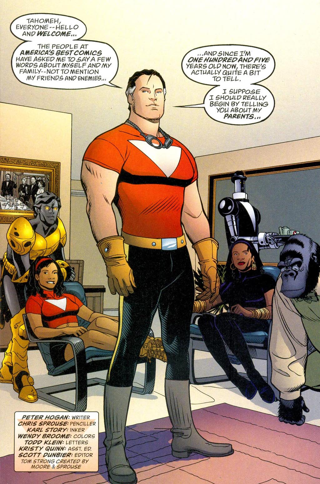 Read online ABC: A-Z, Tom Strong and Jack B. Quick comic -  Issue #ABC: A-Z, Tom Strong and Jack B. Quick Full - 2