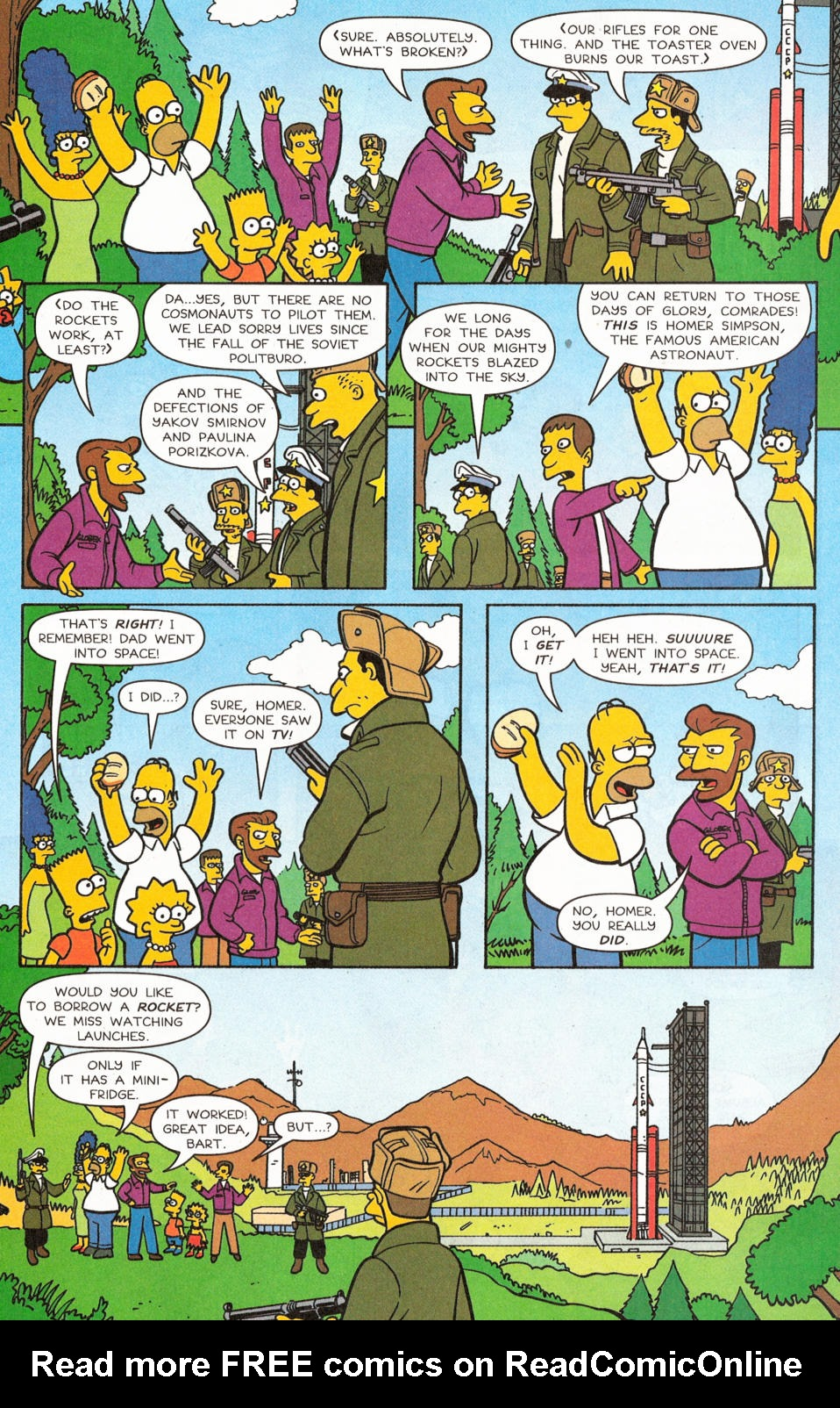 Read online Simpsons Comics comic -  Issue #117 - 16