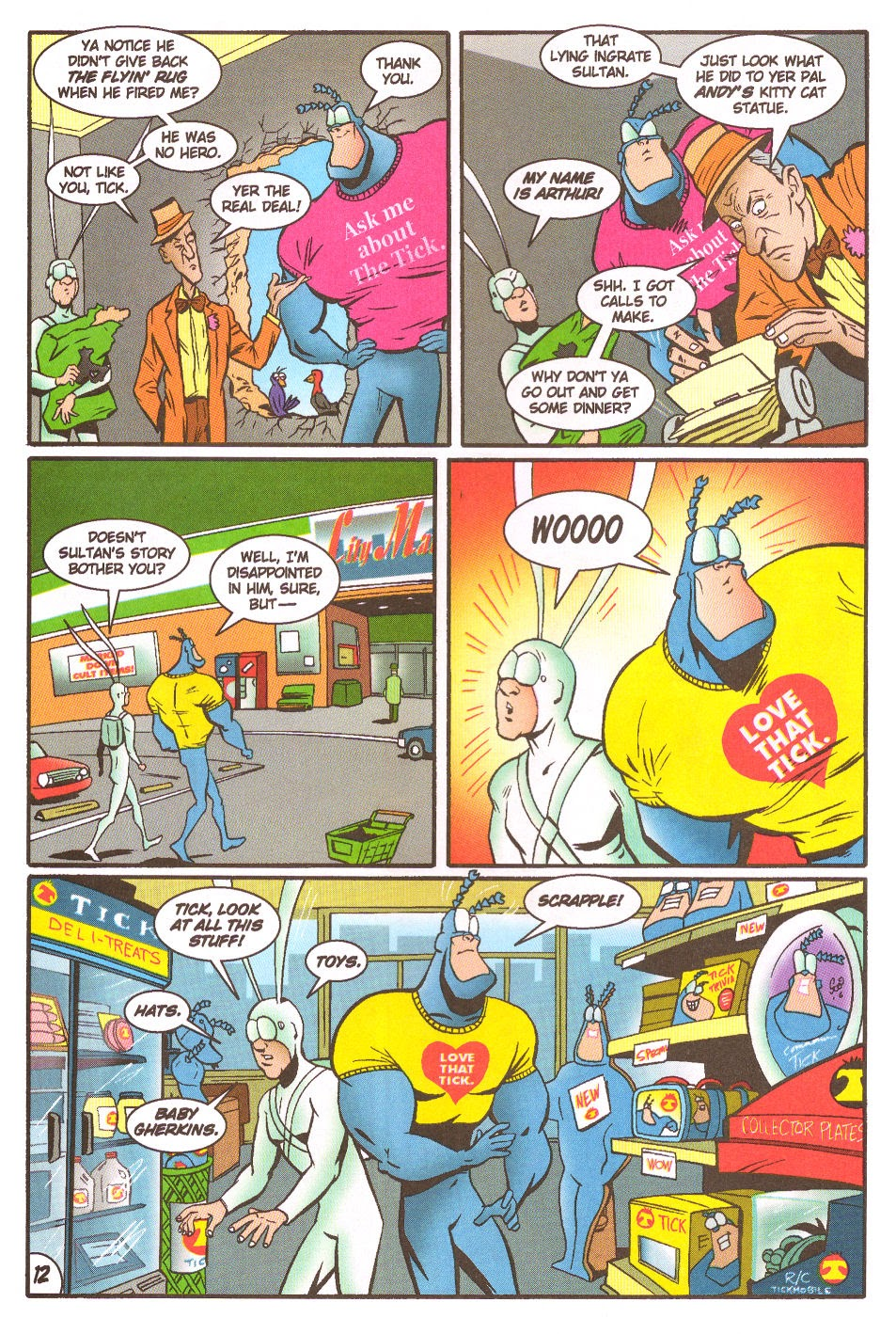 Read online The Tick: Days of Drama comic -  Issue #5 - 14