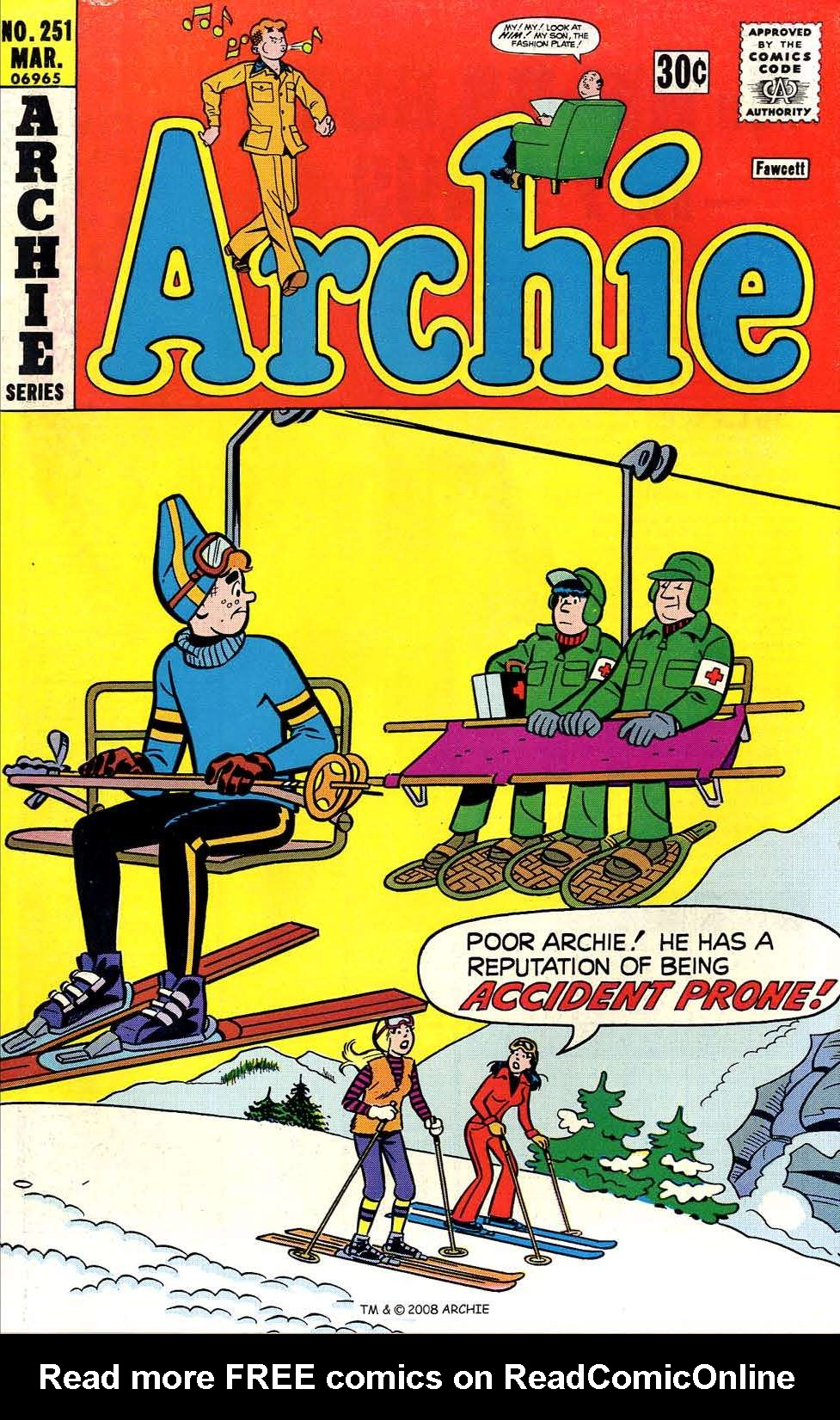 Read online Archie (1960) comic -  Issue #251 - 1