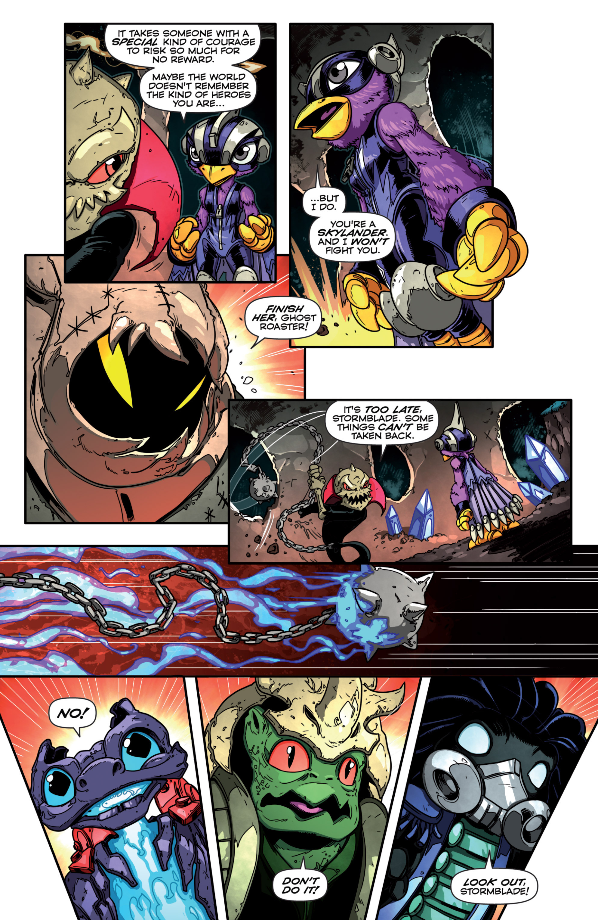 Read online Skylanders Superchargers comic -  Issue #3 - 15