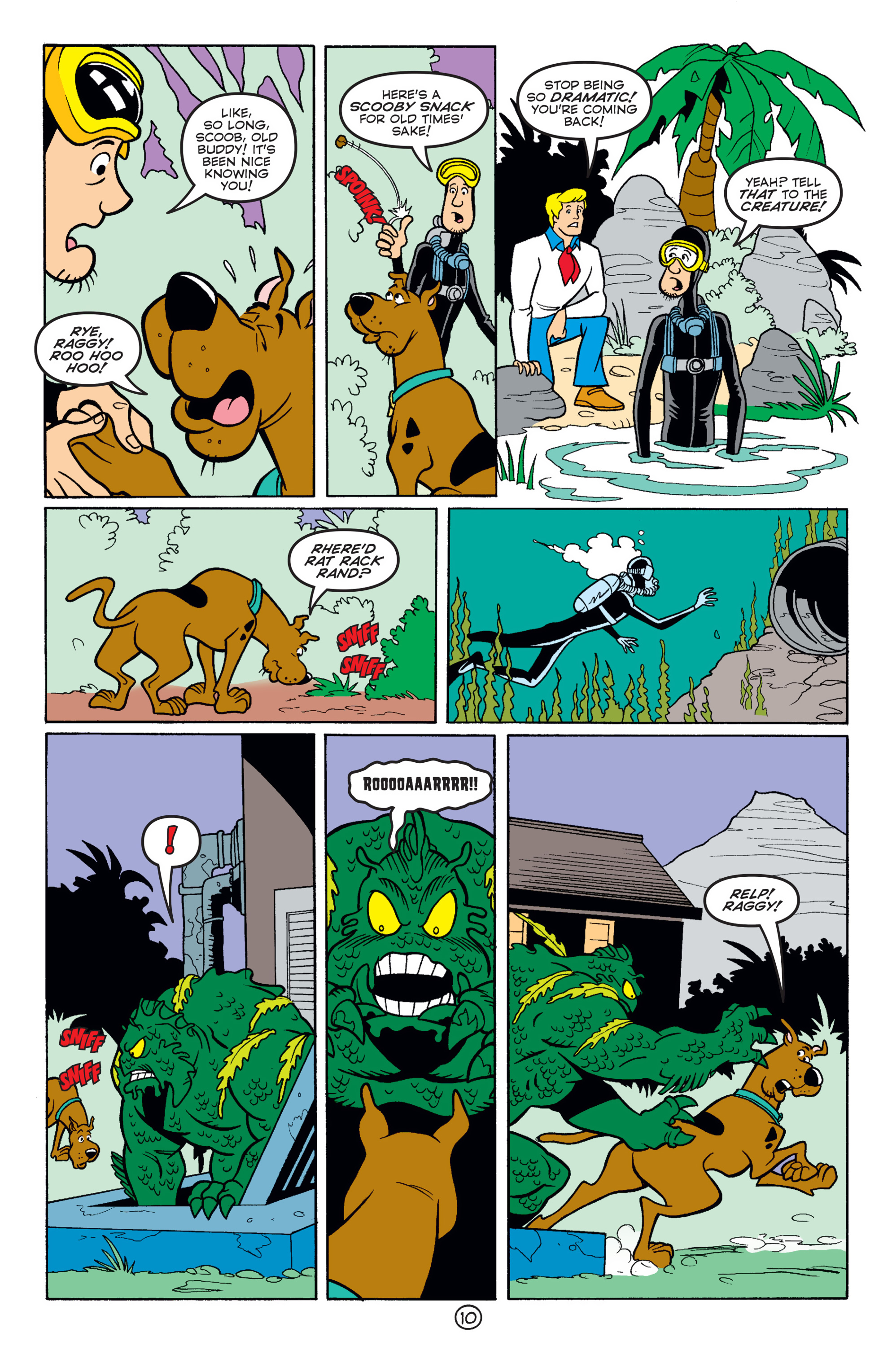 Read online Scooby-Doo (1997) comic -  Issue #58 - 21