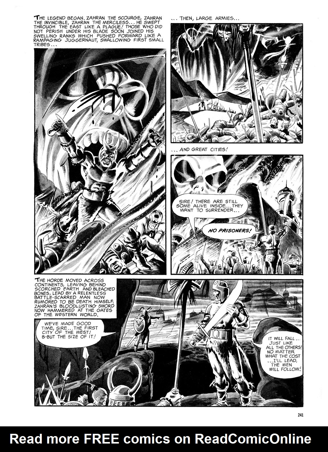 Read online Eerie Archives comic -  Issue # TPB 2 - 242