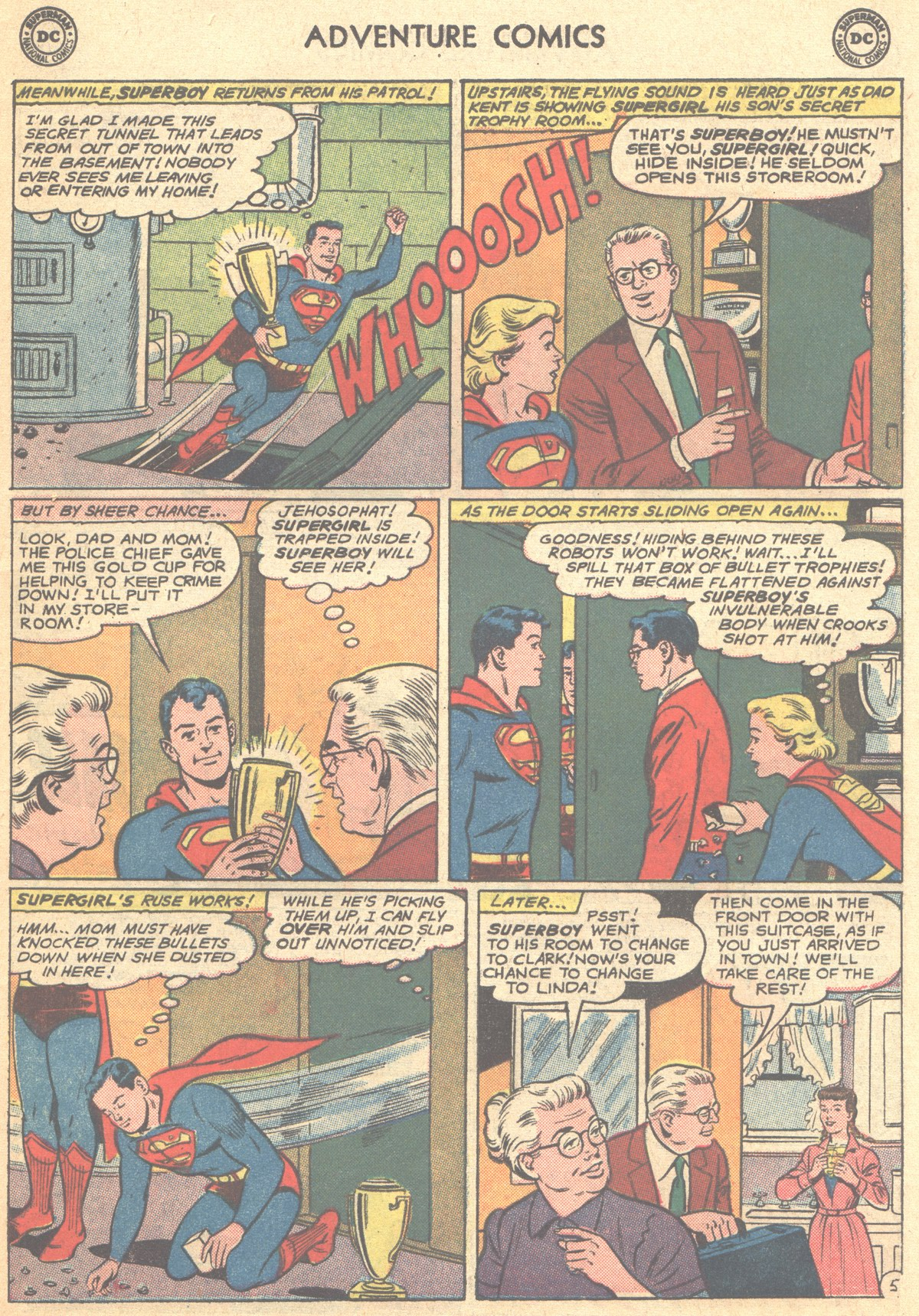 Read online Adventure Comics (1938) comic -  Issue #278 - 7