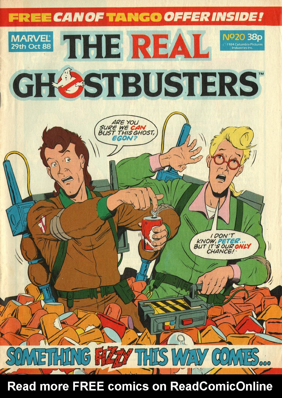 The Real Ghostbusters 20 Page 1