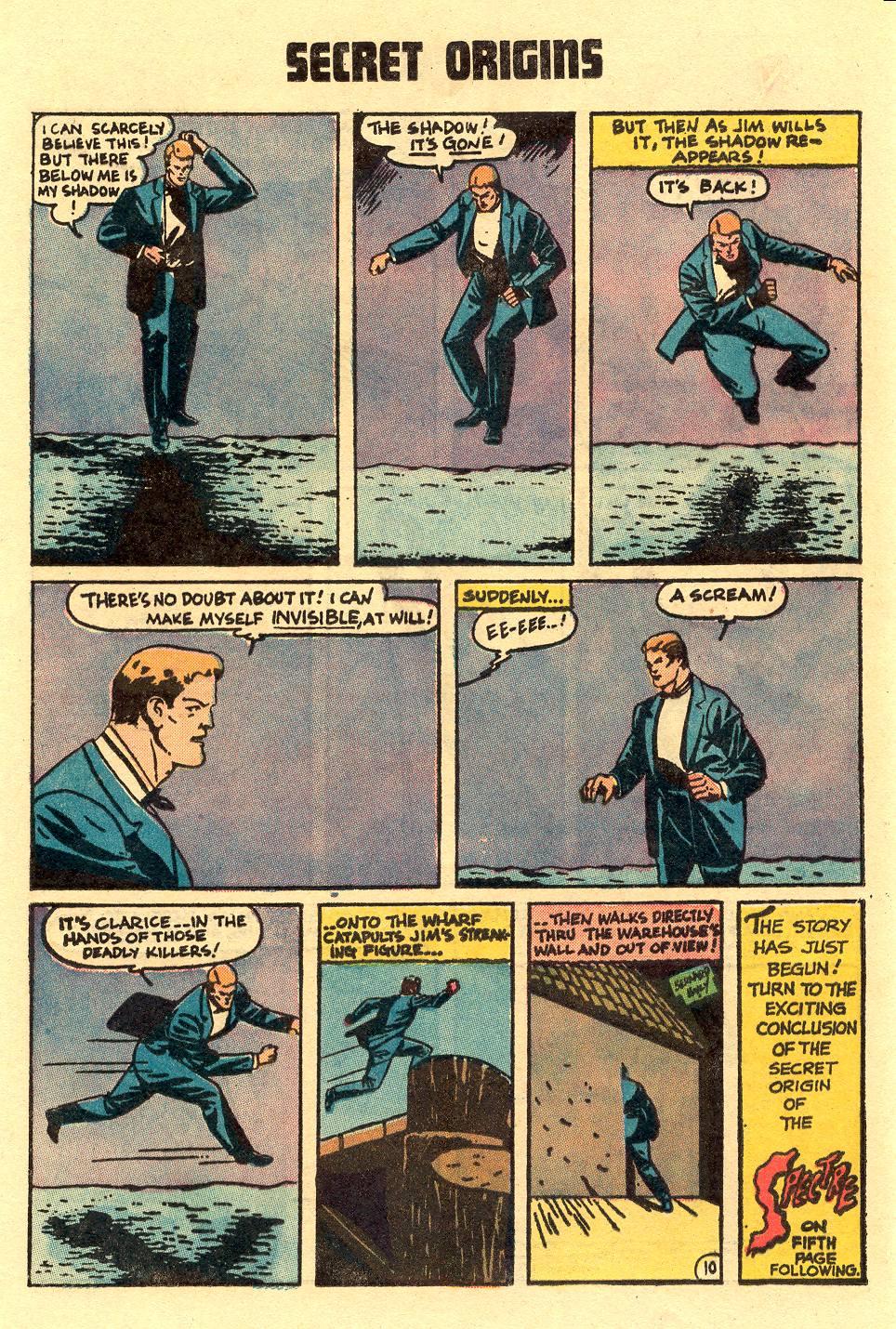 Read online Secret Origins (1973) comic -  Issue #5 - 16