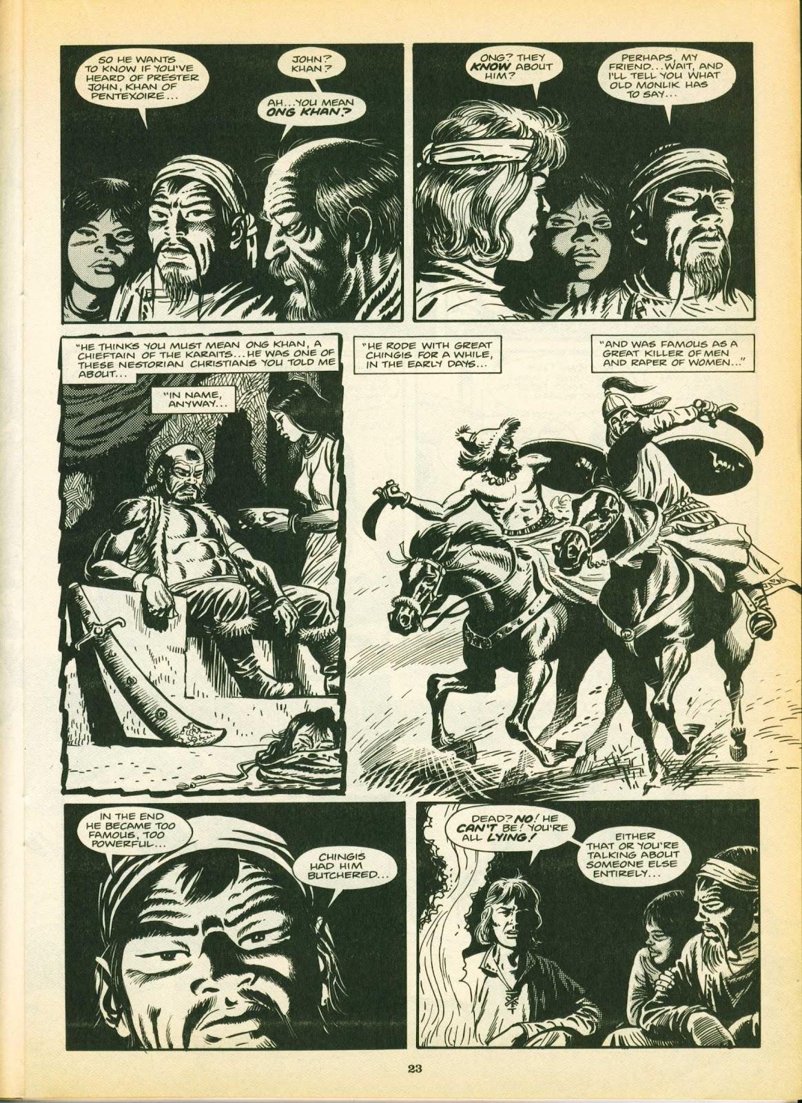 Warrior Issue #12 #13 - English 23