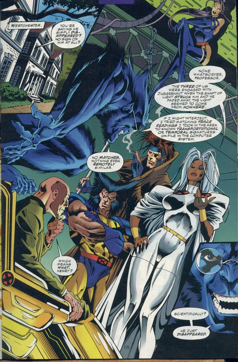 Read online DC Versus Marvel Comics comic -  Issue #1 - 17