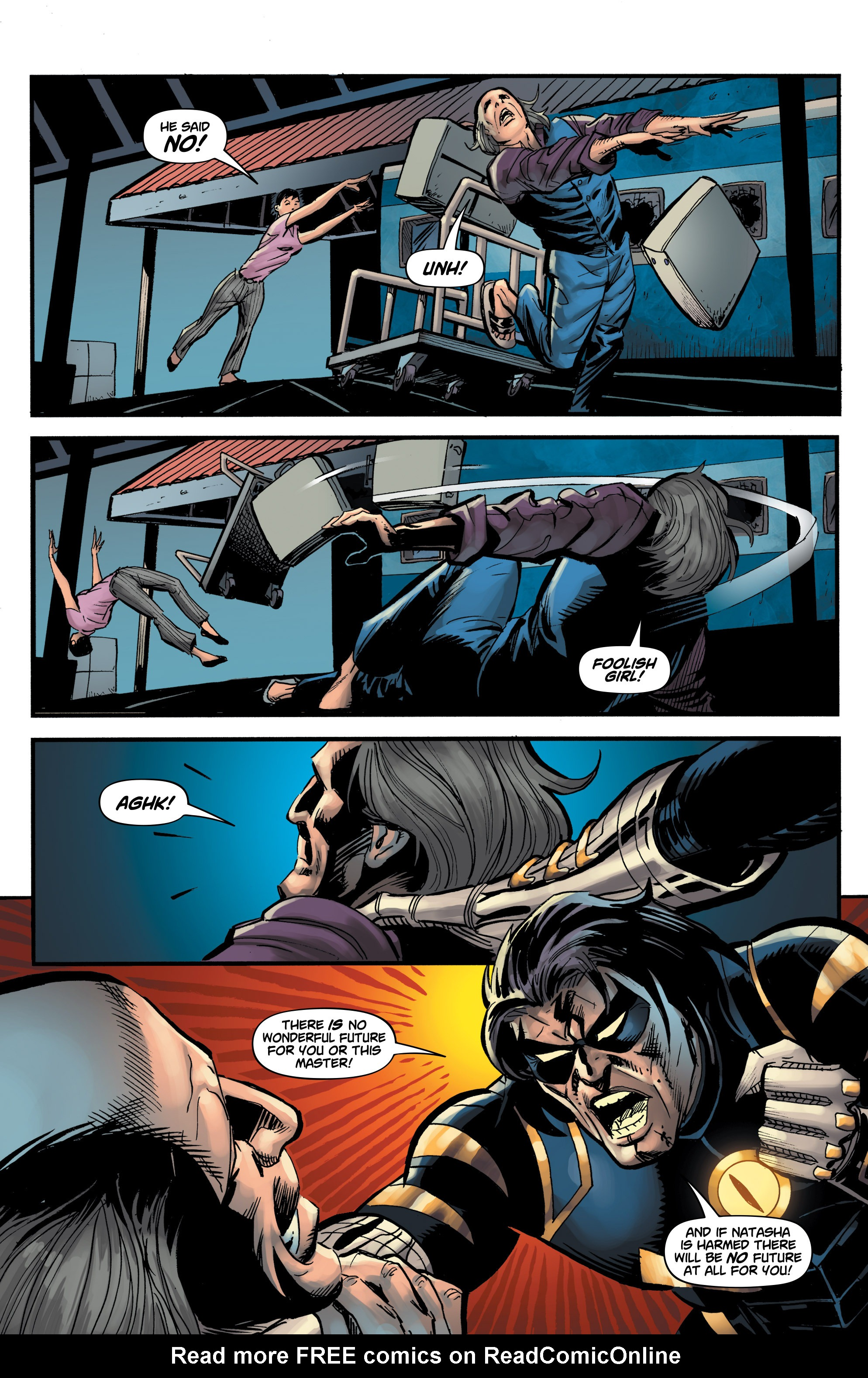 Read online Shadow Tiger comic -  Issue #3 - 23