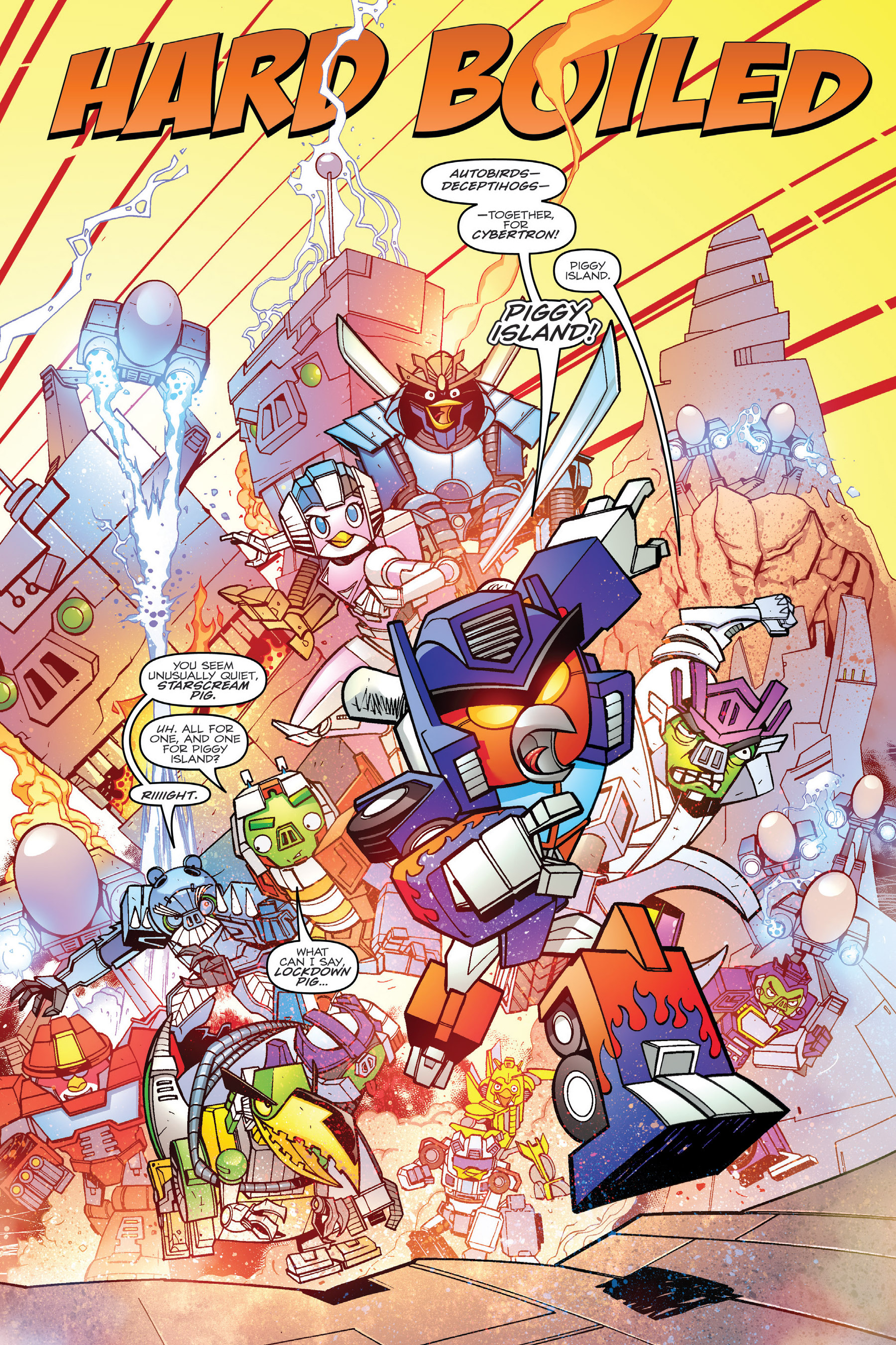 Read online Angry Birds Transformers: Age of Eggstinction comic -  Issue # Full - 74