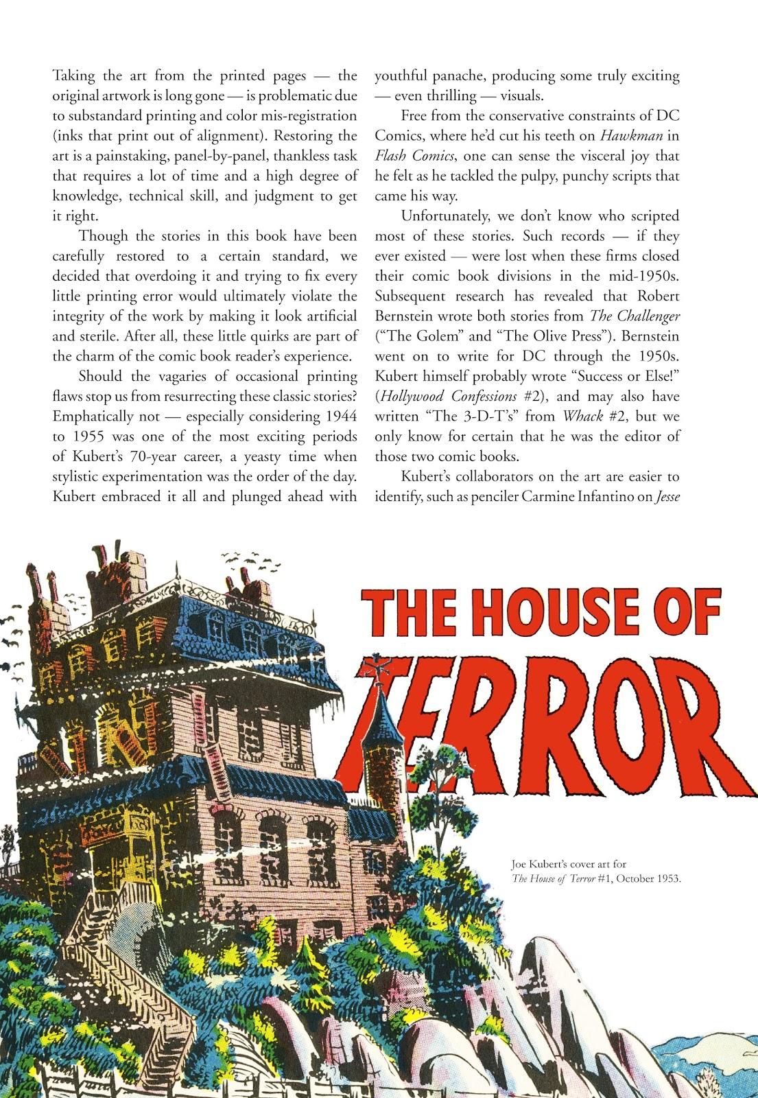 Read online The Joe Kubert Archives comic -  Issue # TPB (Part 1) - 7