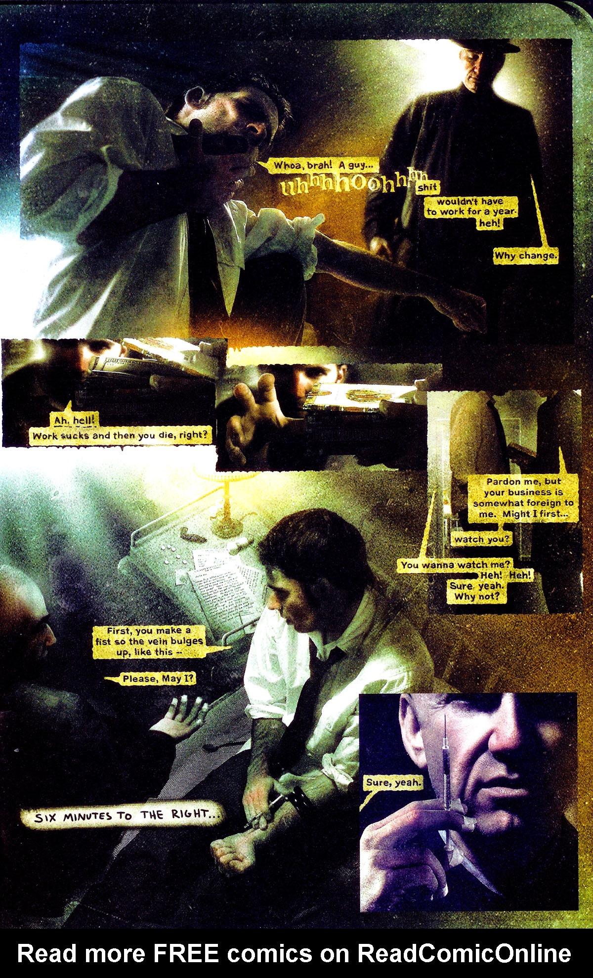Read online Se7en comic -  Issue #3 - 18
