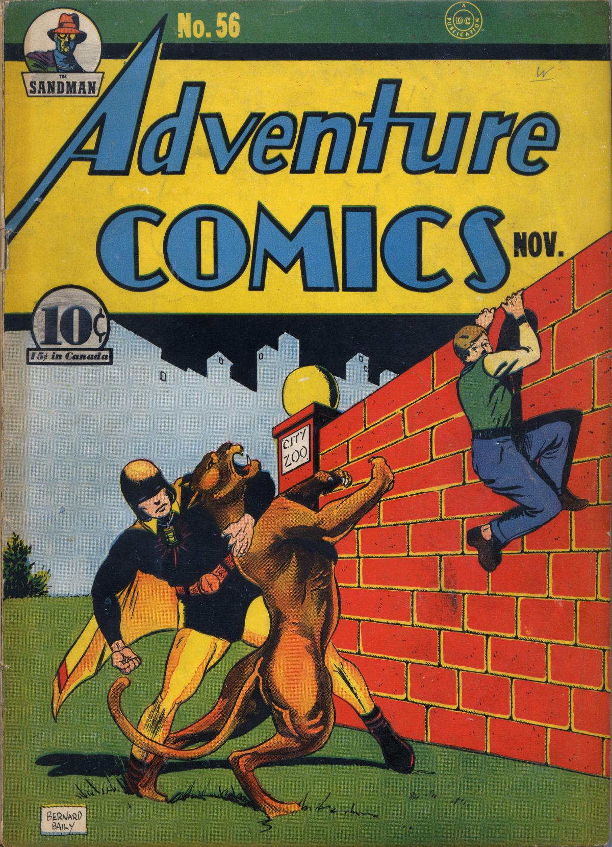 Read online Adventure Comics (1938) comic -  Issue #56 - 2