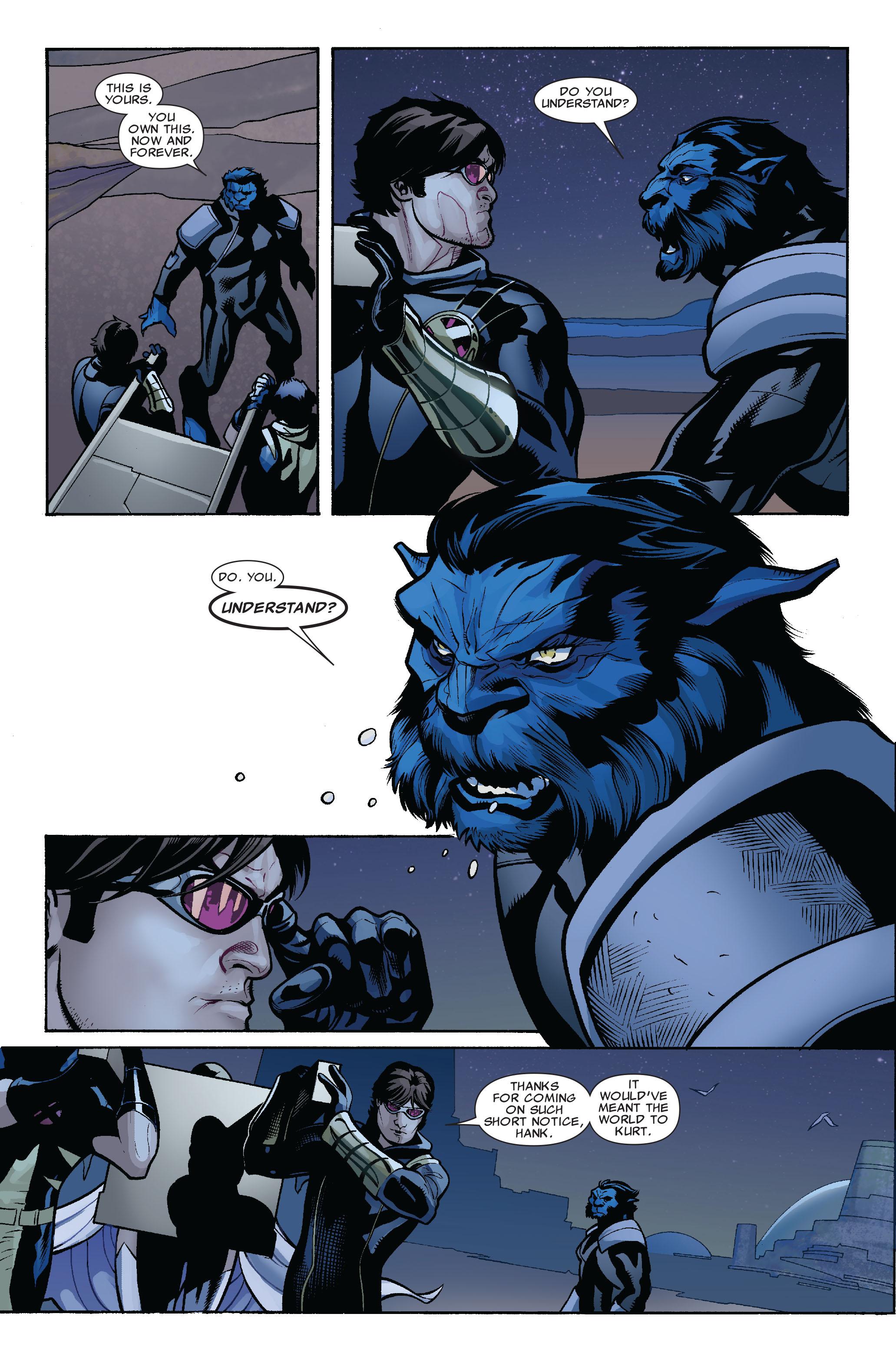 Read online Uncanny X-Men (1963) comic -  Issue #524 - 19