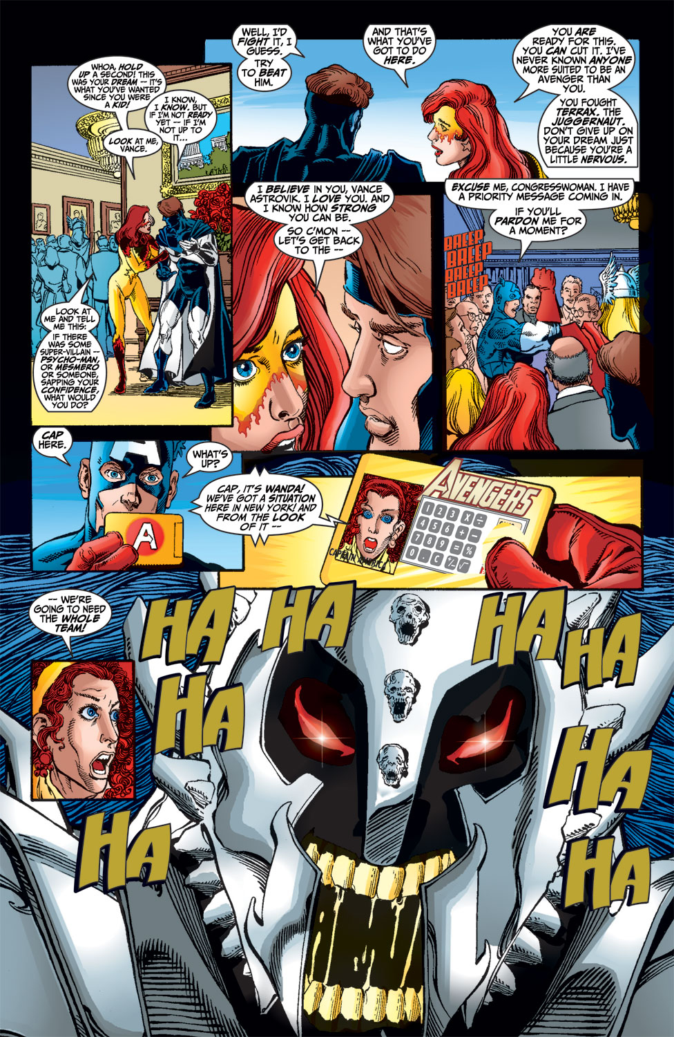 Read online Avengers (1998) comic -  Issue #14 - 14