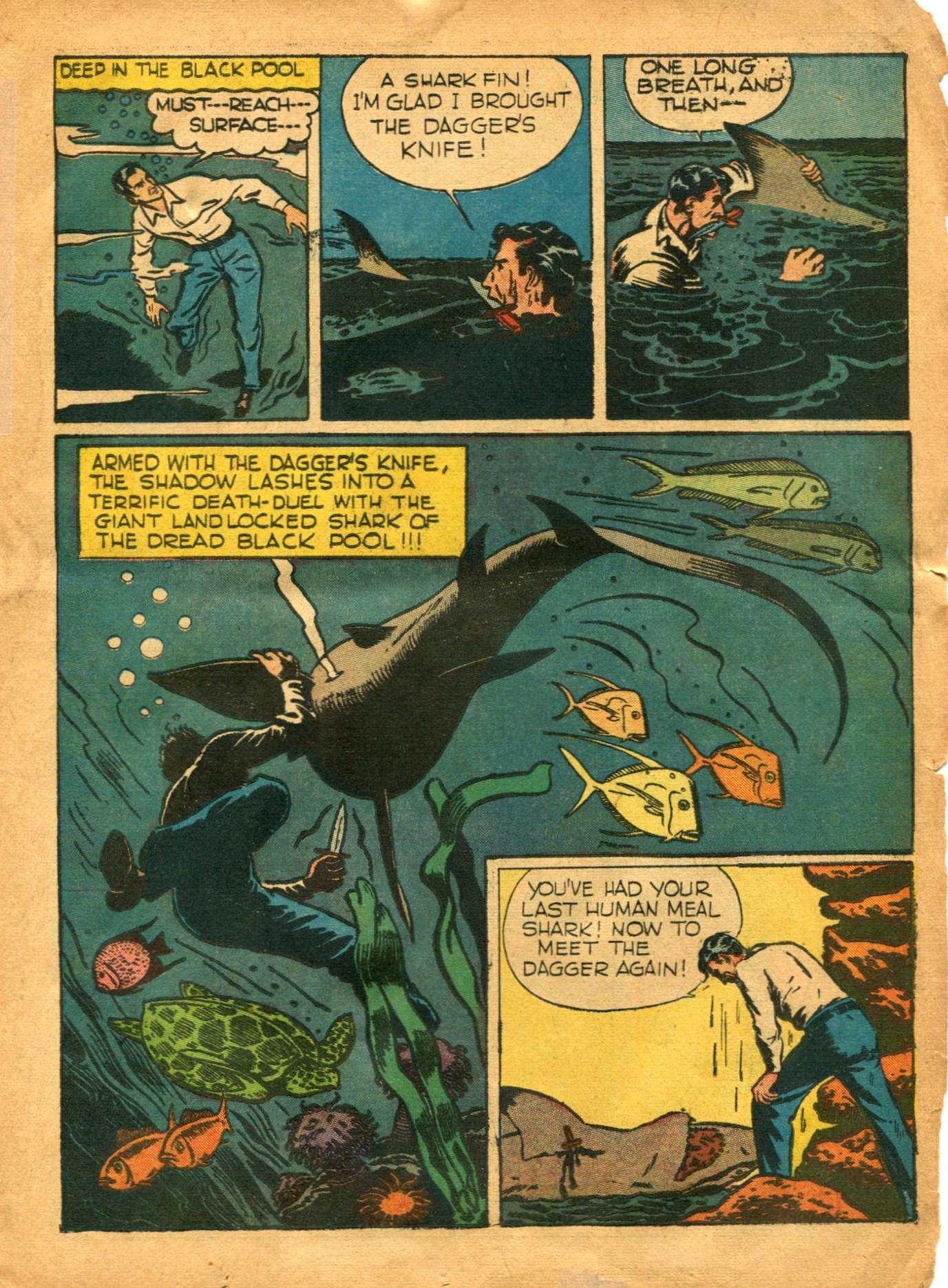 Read online Shadow Comics comic -  Issue #12 - 19