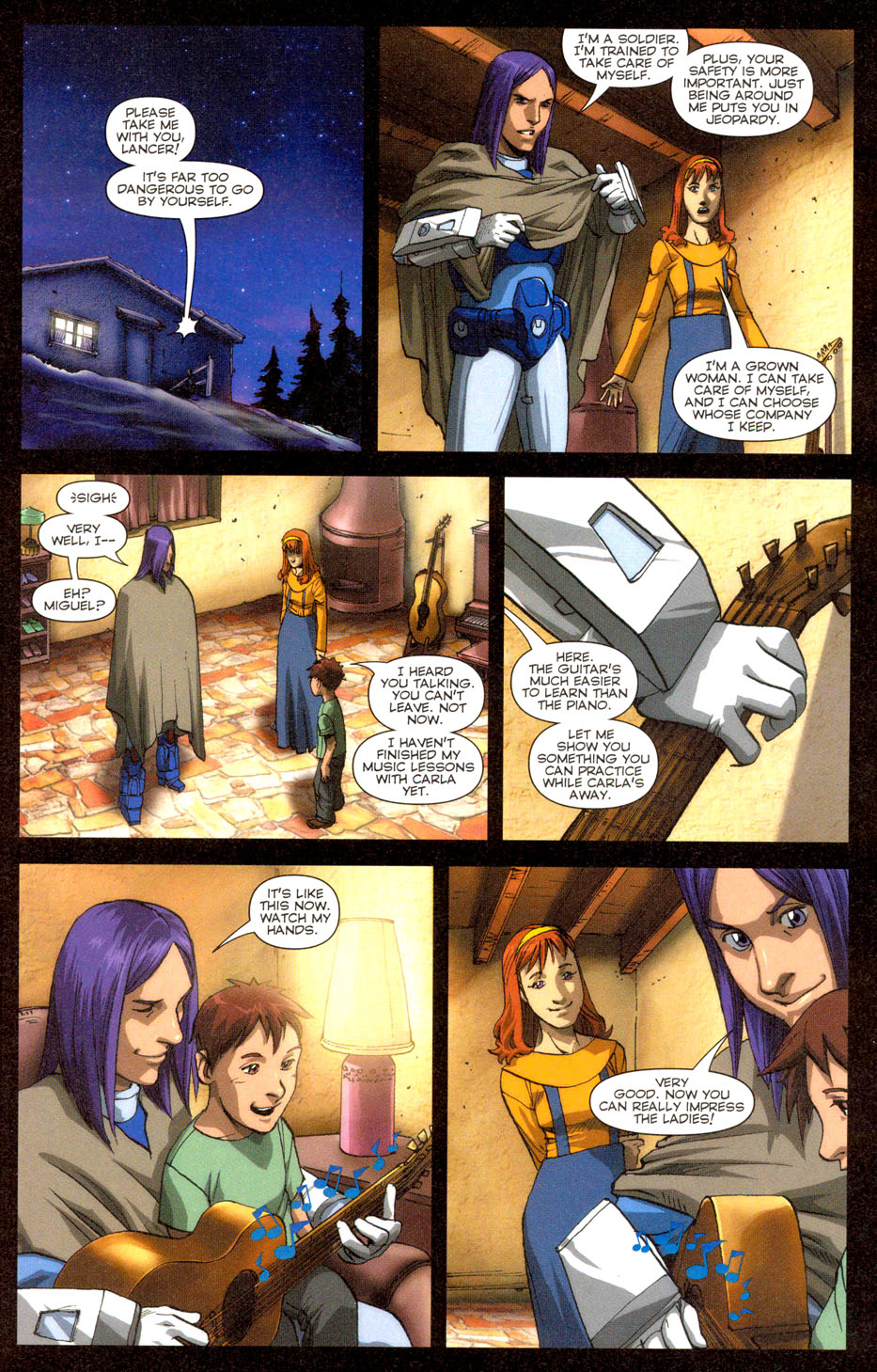 Read online Robotech: Invasion comic -  Issue #3 - 6
