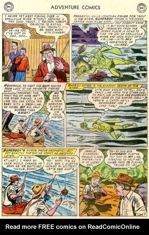 Read online Adventure Comics (1938) comic -  Issue #244 - 11