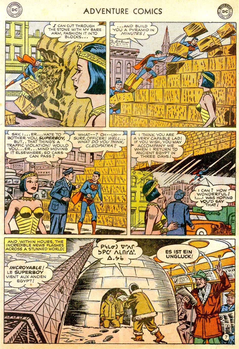 Read online Adventure Comics (1938) comic -  Issue #183 - 9