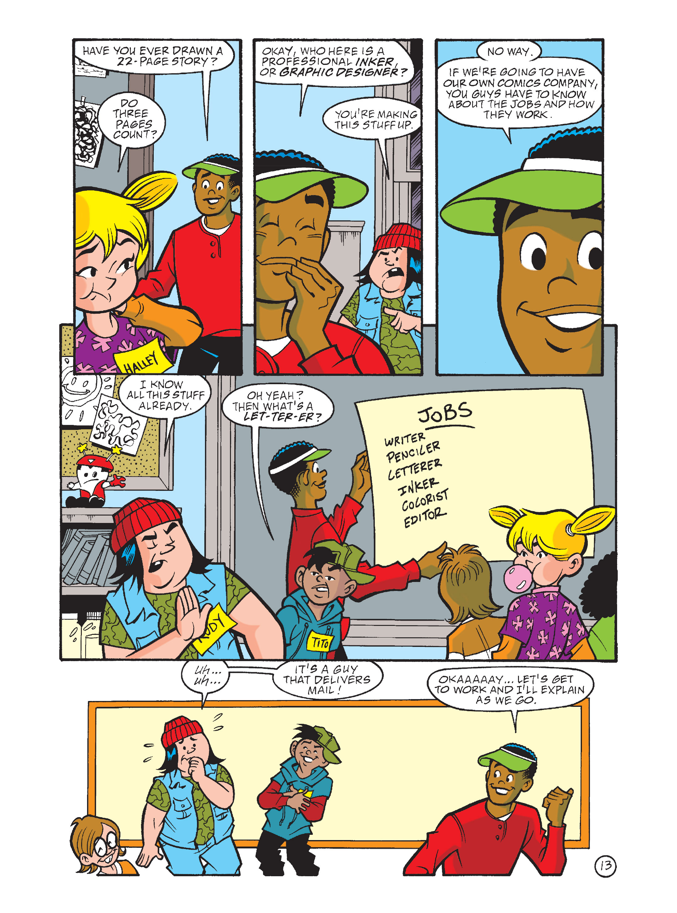 Read online Archie's Funhouse Double Digest comic -  Issue #8 - 48