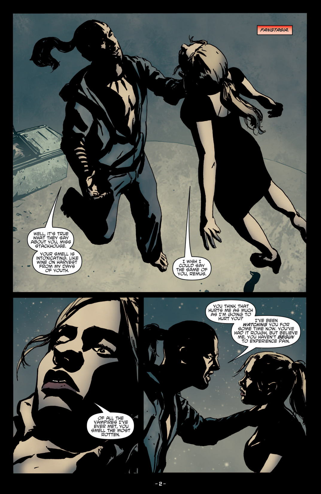 Read online True Blood (2012) comic -  Issue #4 - 4
