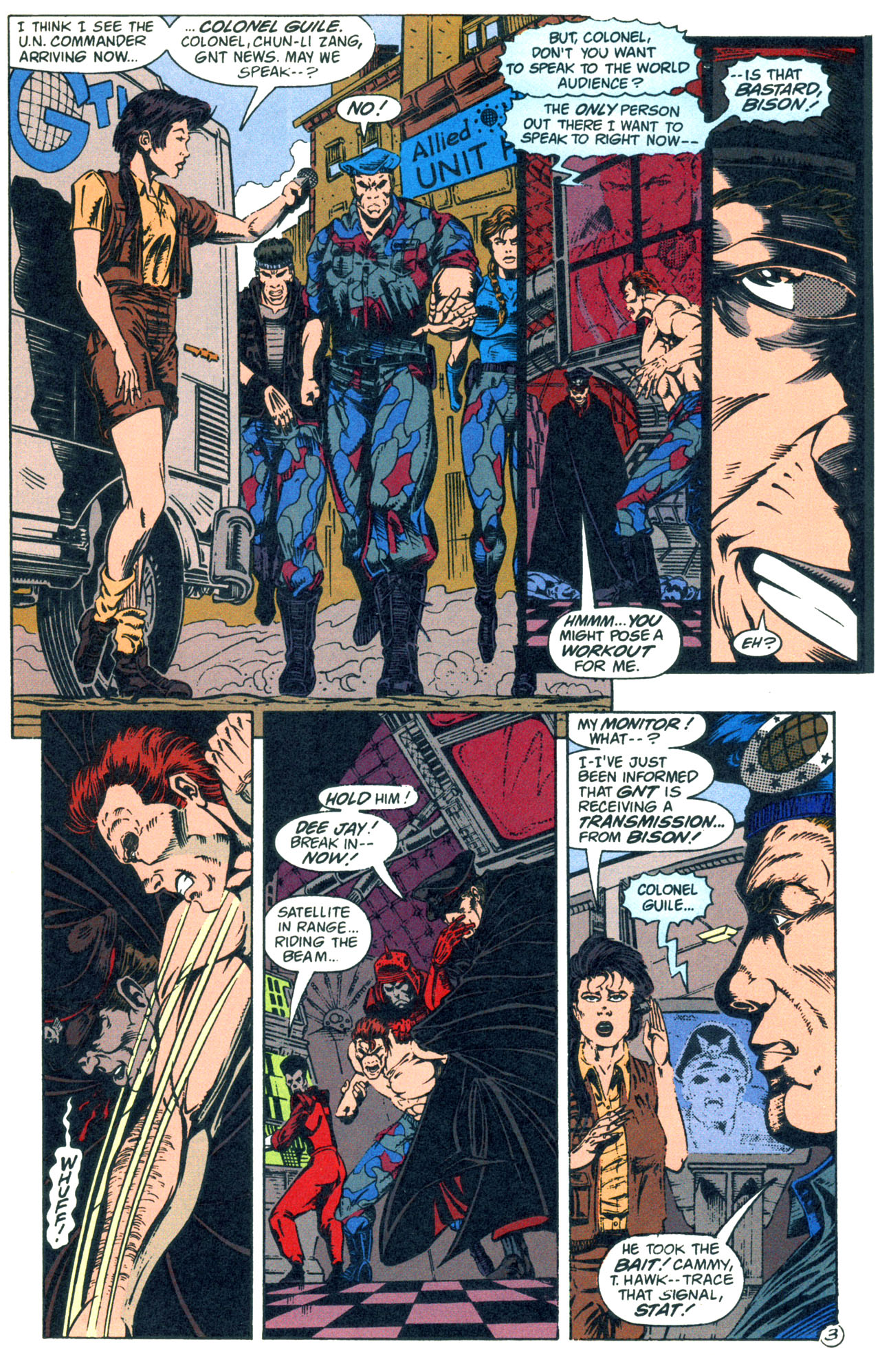 Read online Street Fighter: The Battle For Shadaloo comic -  Issue # Full - 4