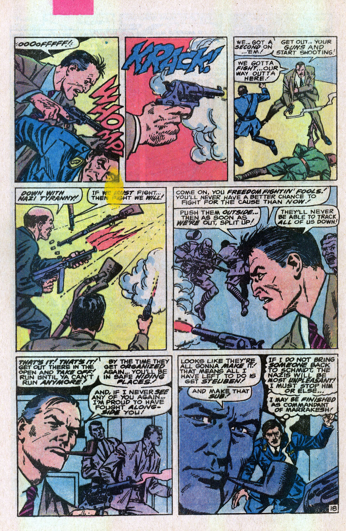 Read online Sgt. Fury comic -  Issue #166 - 27