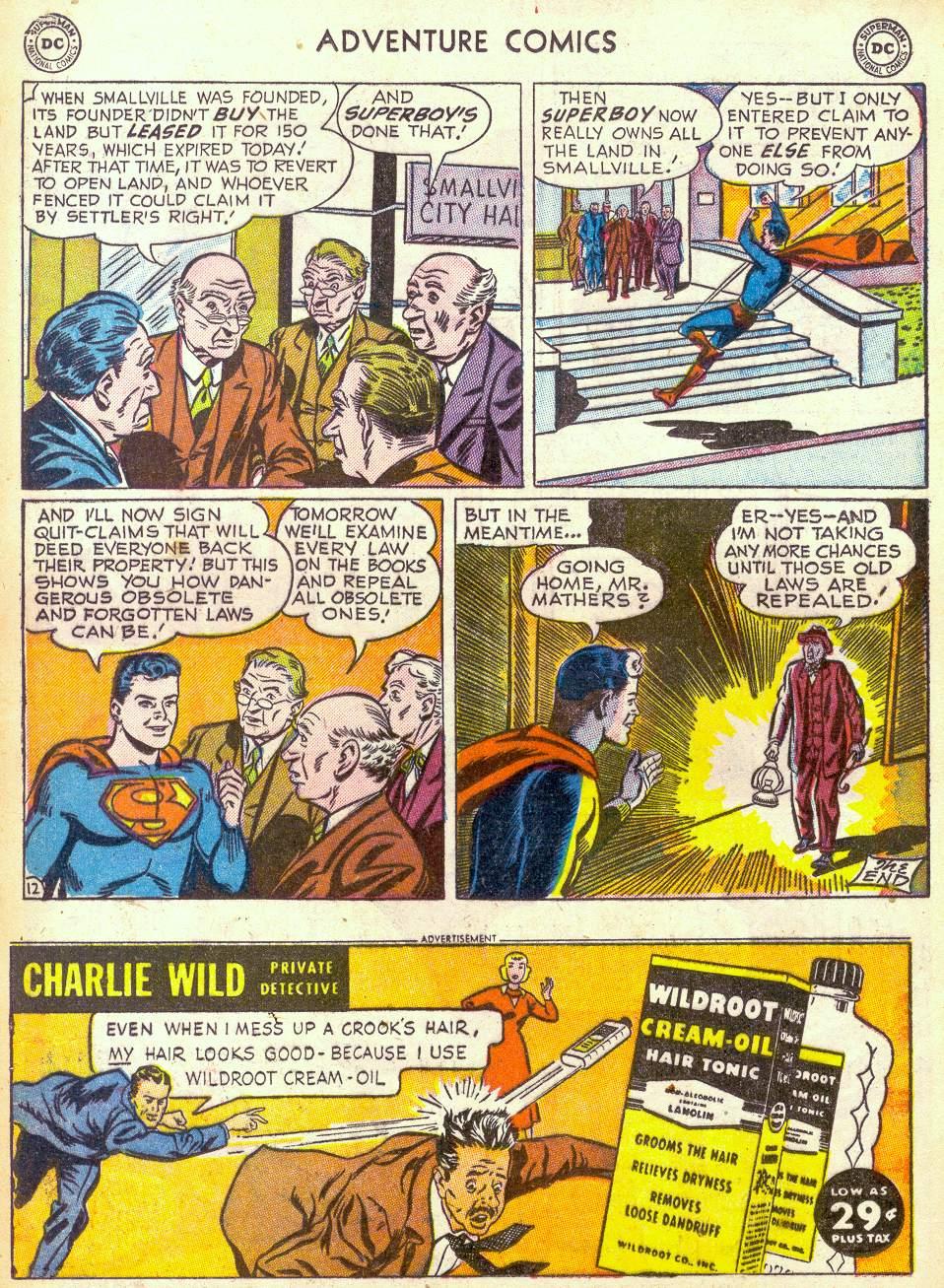 Read online Adventure Comics (1938) comic -  Issue #172 - 14