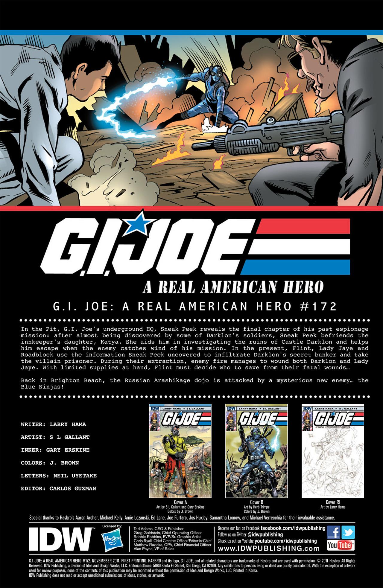 G.I. Joe: A Real American Hero 172 Page 3