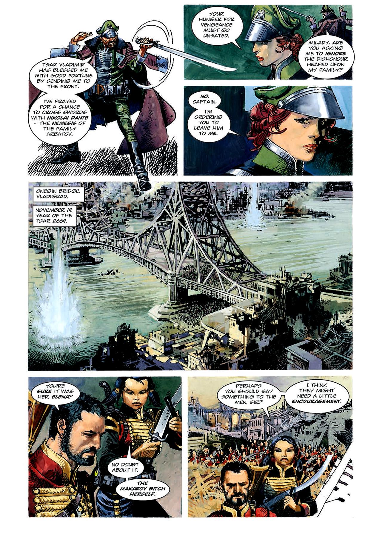 Read online Nikolai Dante comic -  Issue # TPB 4 - 65