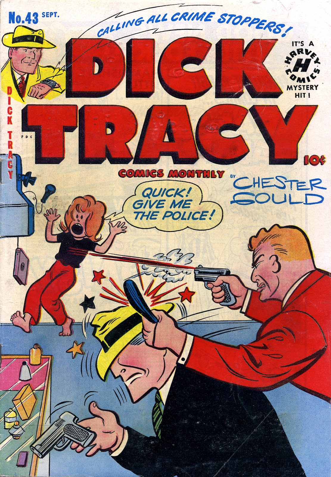Dick Tracy (1950) 43 Page 1