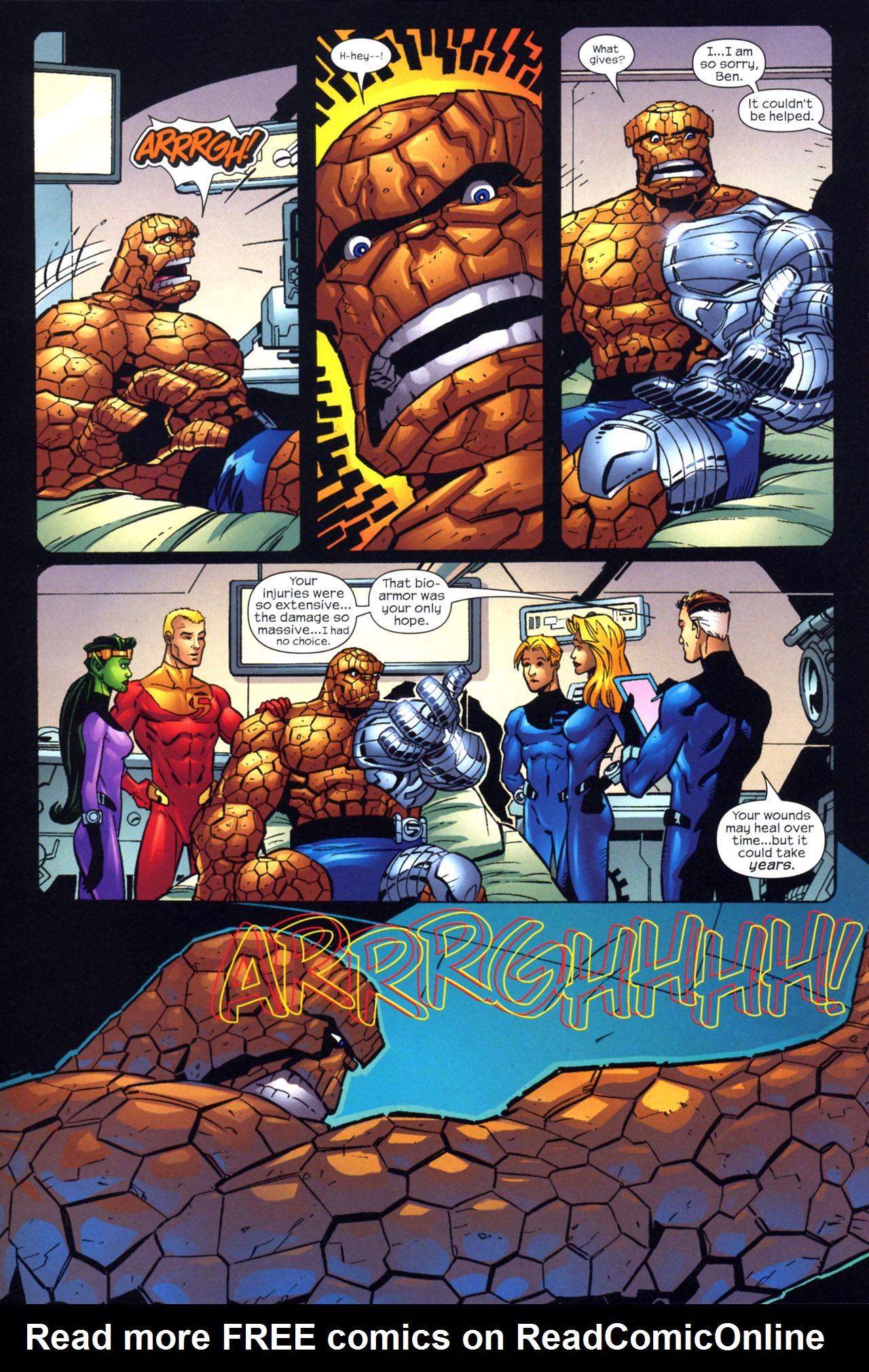 Read online Fantastic Five (2007) comic -  Issue #2 - 18